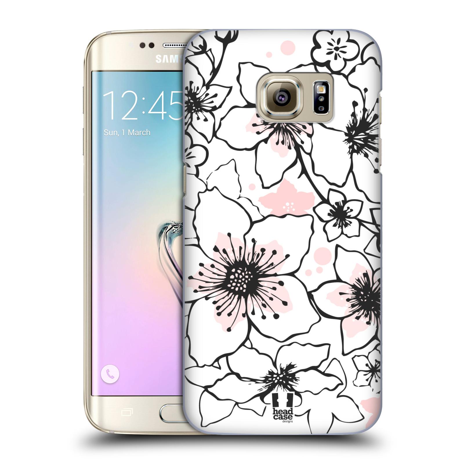 Plastové pouzdro na mobil Samsung Galaxy S7 Edge HEAD CASE BLOSSOMS SPRINGTIME (Kryt či obal na mobilní telefon Samsung Galaxy S7 Edge SM-G935F)