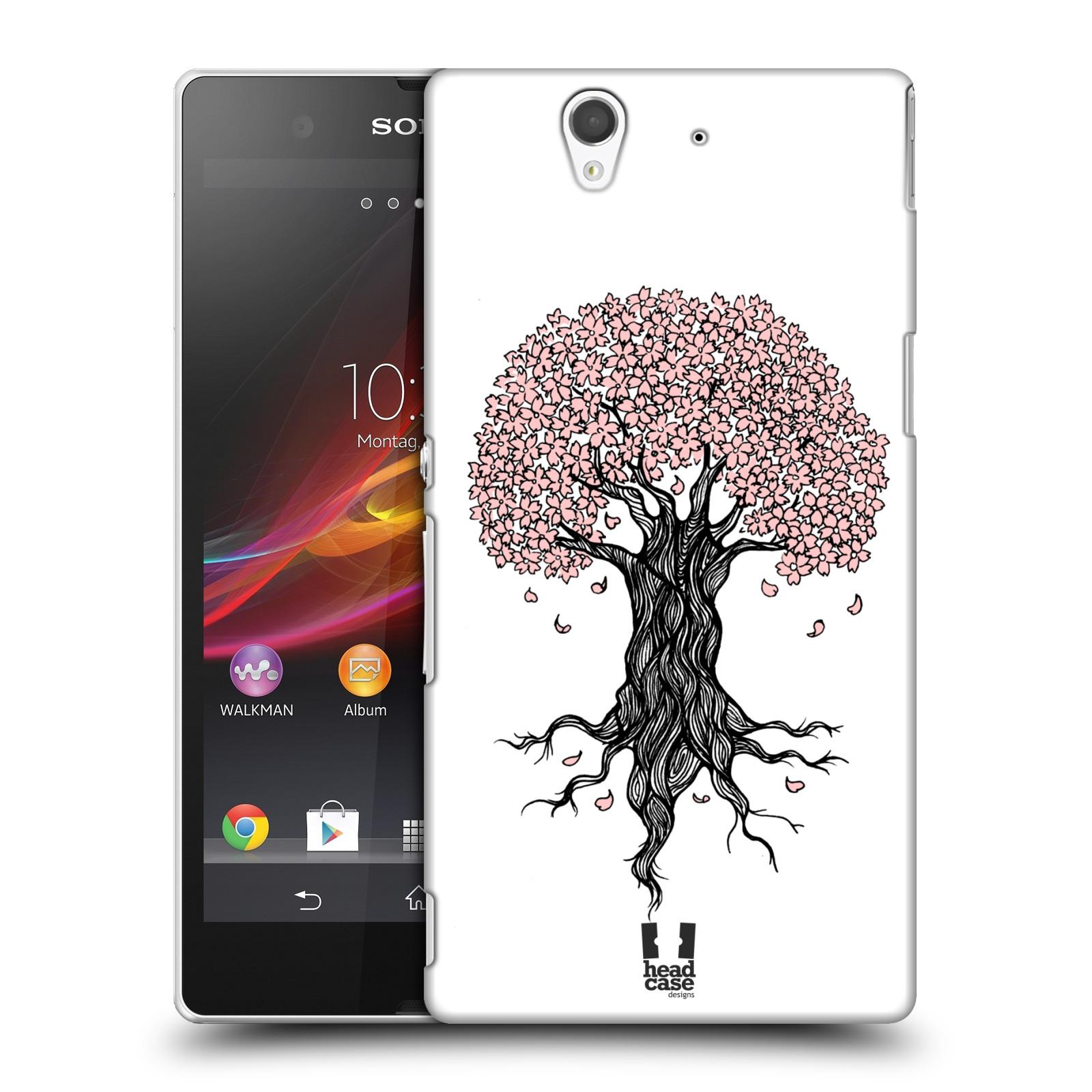 Plastové pouzdro na mobil Sony Xperia Z C6603 HEAD CASE BLOSSOMS TREE