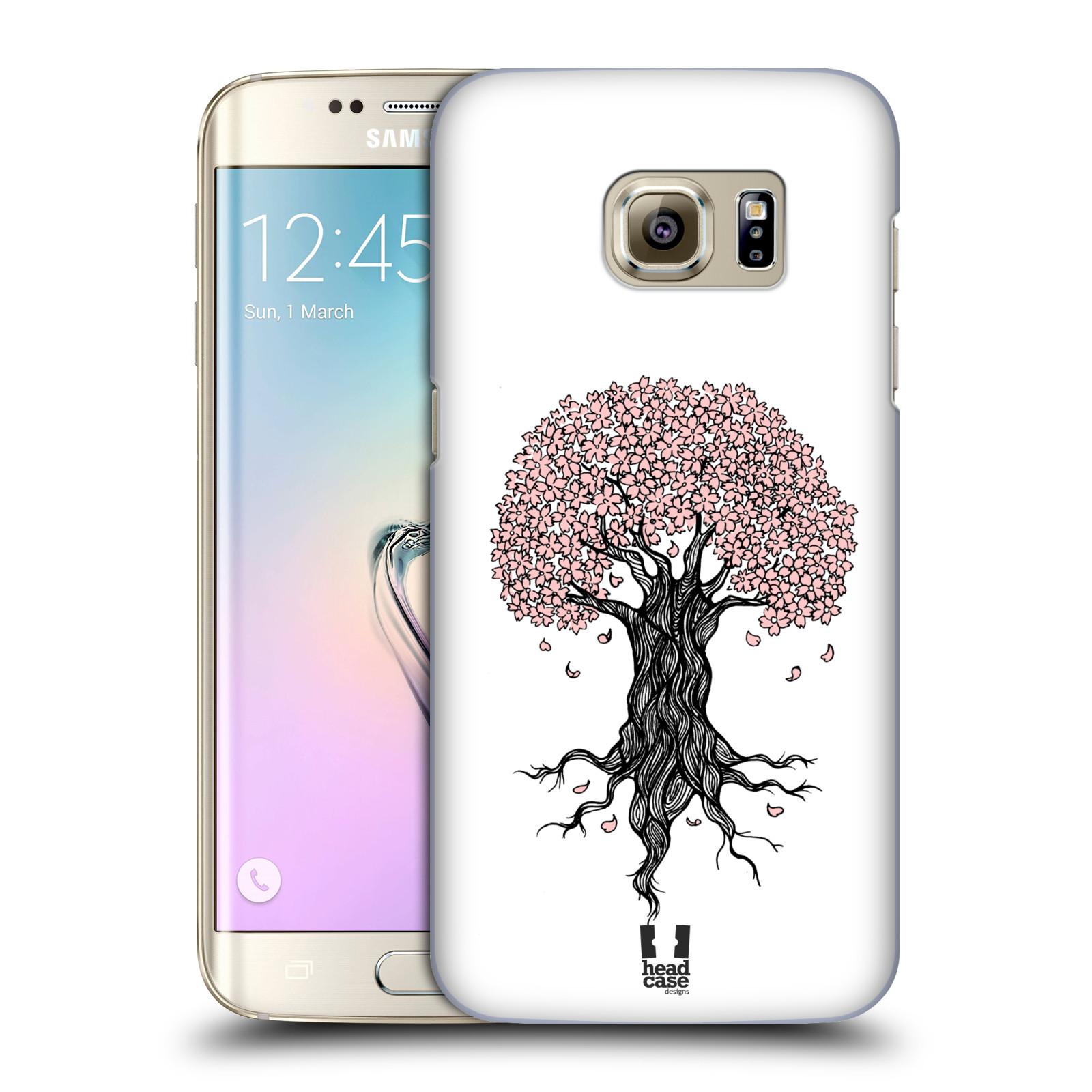 Plastové pouzdro na mobil Samsung Galaxy S7 Edge HEAD CASE BLOSSOMS TREE (Kryt či obal na mobilní telefon Samsung Galaxy S7 Edge SM-G935F)