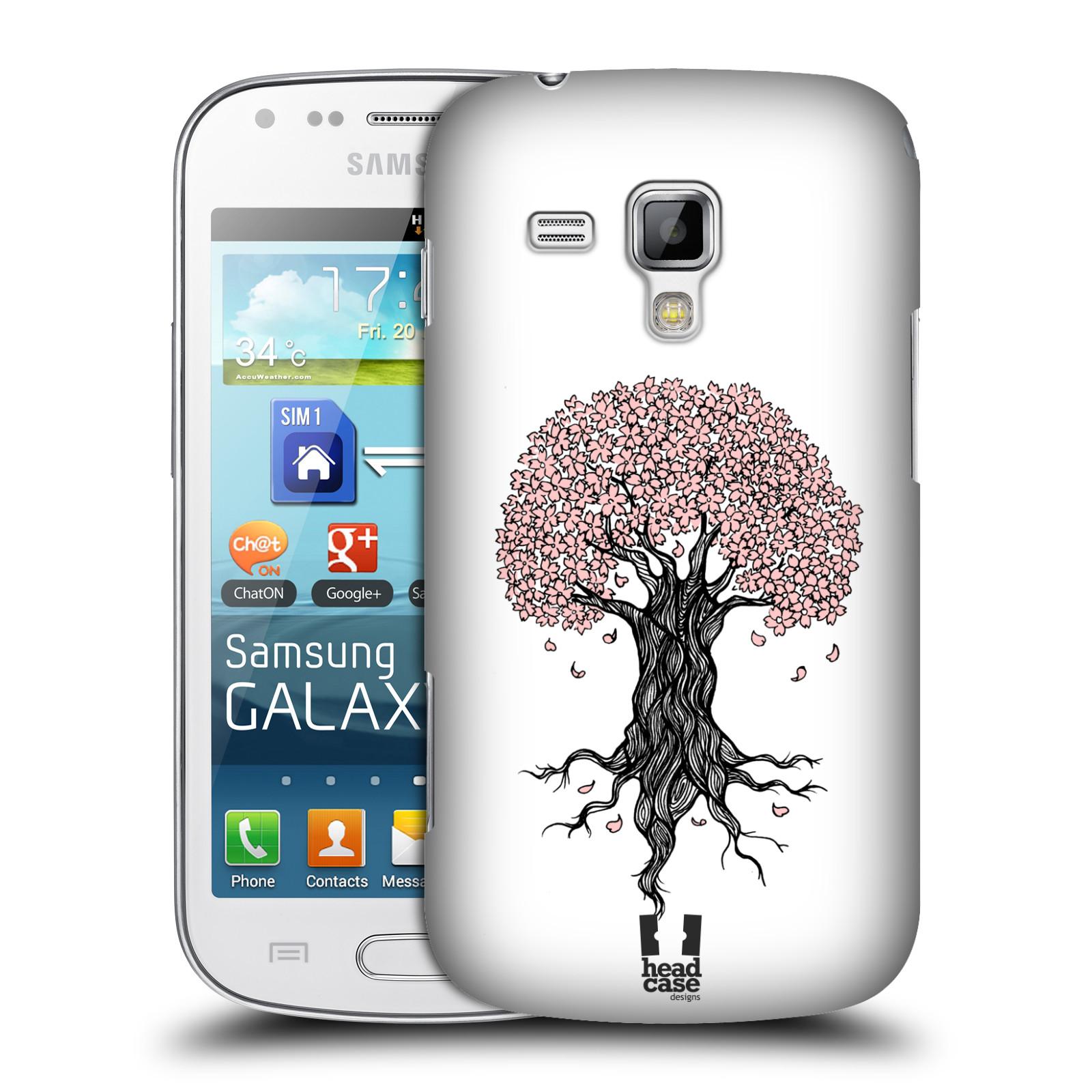 Plastové pouzdro na mobil Samsung Galaxy Trend Plus HEAD CASE BLOSSOMS TREE