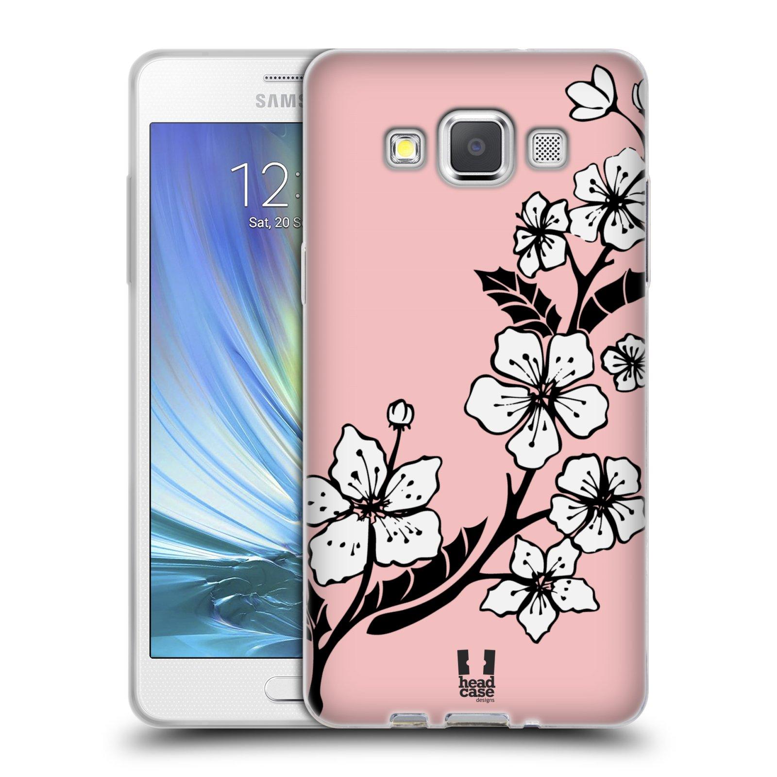 Silikonové pouzdro na mobil Samsung Galaxy A5 HEAD CASE BLOSSOMS VINE