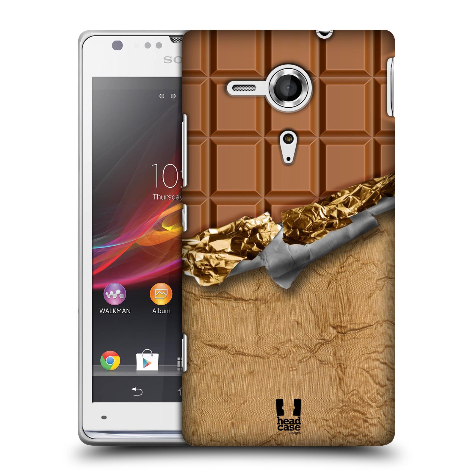 Plastové pouzdro na mobil Sony Xperia SP C5303 HEAD CASE ČOKOFOILED (Kryt či obal na mobilní telefon Sony Xperia SP )