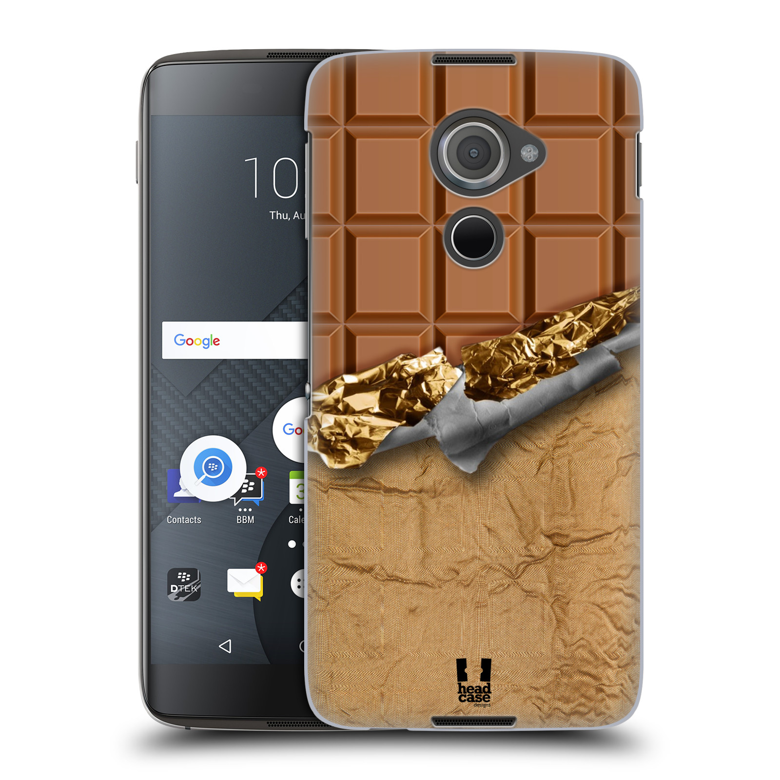 Plastové pouzdro na mobil Blackberry DTEK60 (Argon) - Head Case ČOKOFOILED (Plastový kryt či obal na mobilní telefon Blackberry DTEK60 (Argon))