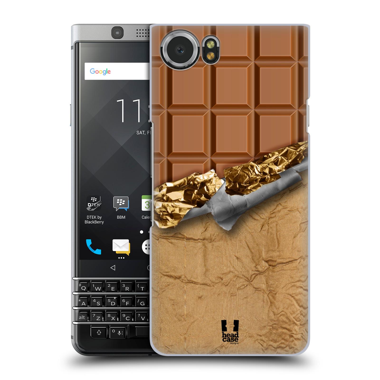 Plastové pouzdro na mobil BlackBerry KEYone - Head Case - ČOKOFOILED