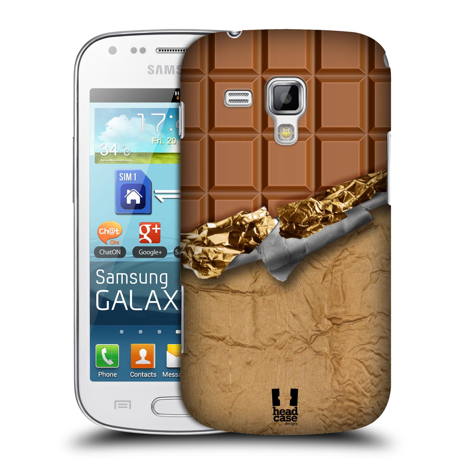 Plastové pouzdro na mobil Samsung Galaxy Trend Plus HEAD CASE ČOKOFOILED