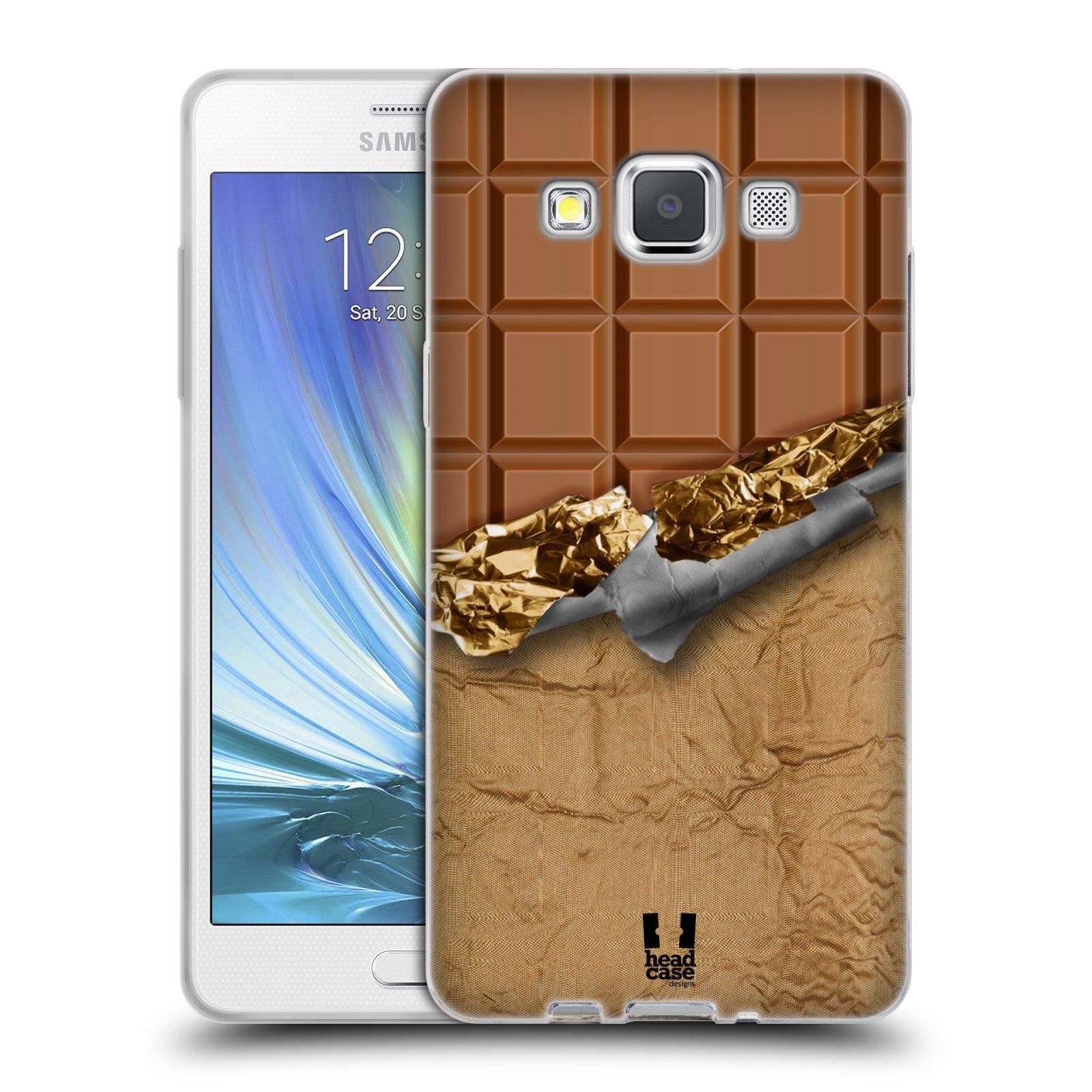 Silikonové pouzdro na mobil Samsung Galaxy A5 HEAD CASE ČOKOFOILED