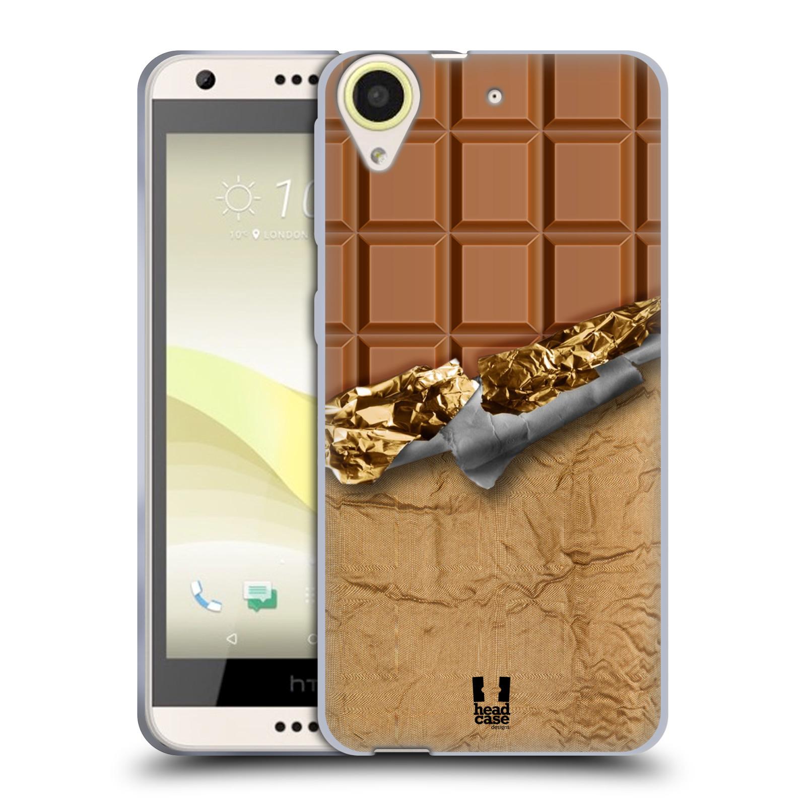 Silikonové pouzdro na mobil HTC Desire 650 HEAD CASE ČOKOFOILED (Silikonový kryt či obal na mobilní telefon HTC Desire 650)
