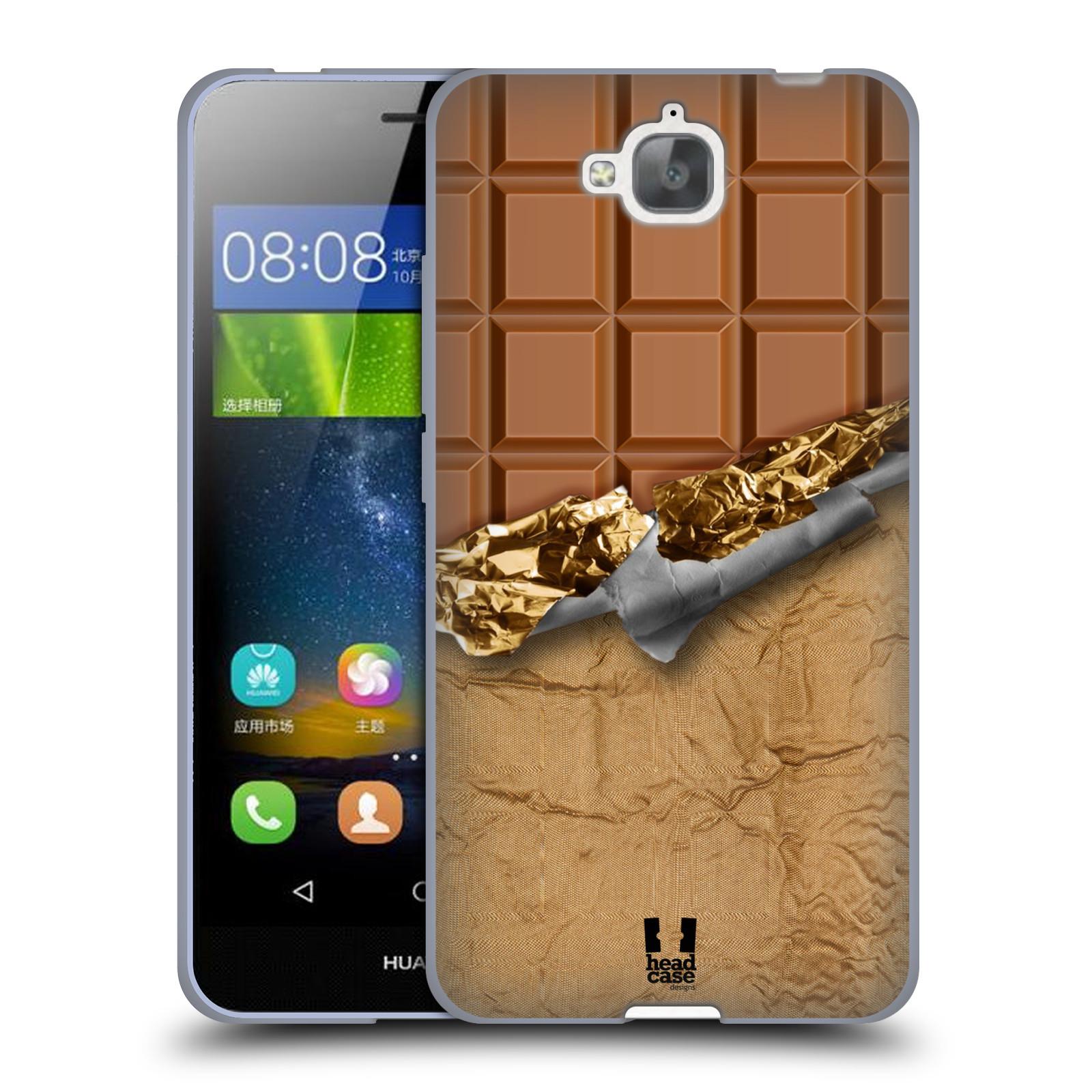 Silikonové pouzdro na mobil Huawei Y6 Pro Dual Sim HEAD CASE ČOKOFOILED