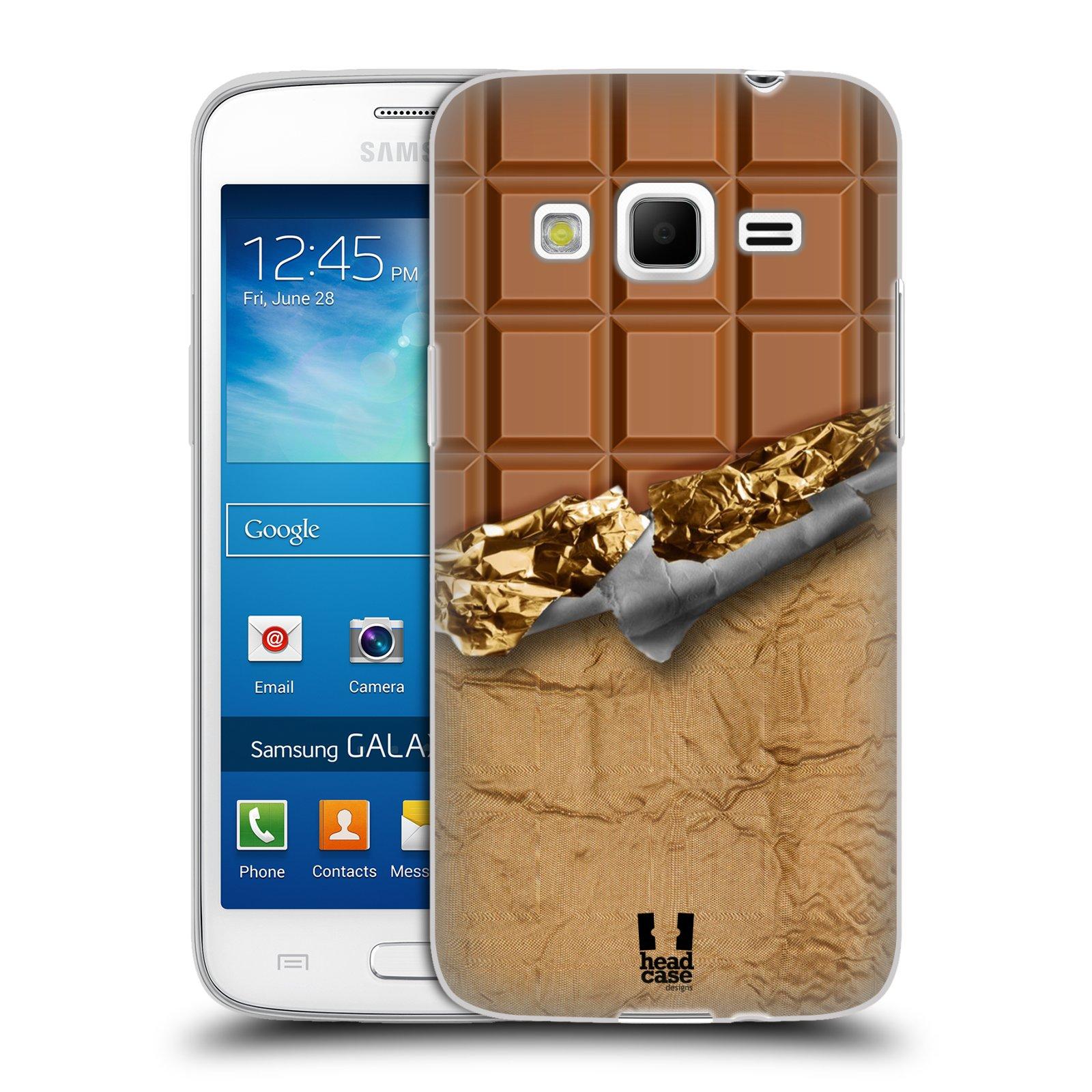 Silikonové pouzdro na mobil Samsung Galaxy Express 2 HEAD CASE ČOKOFOILED (Silikonový kryt či obal na mobilní telefon Samsung Galaxy Express 2 SM-G3815)