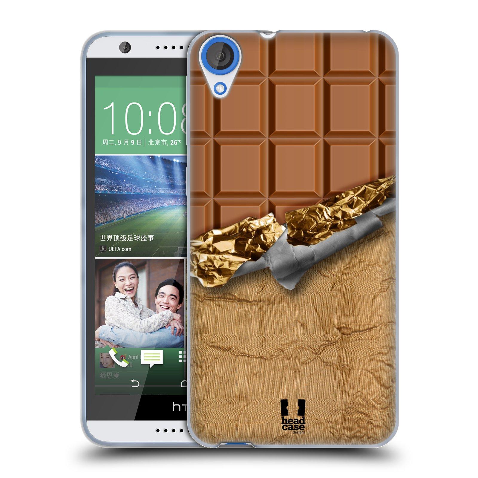 Silikonové pouzdro na mobil HTC Desire 820 HEAD CASE ČOKOFOILED (Silikonový kryt či obal na mobilní telefon HTC Desire 820)