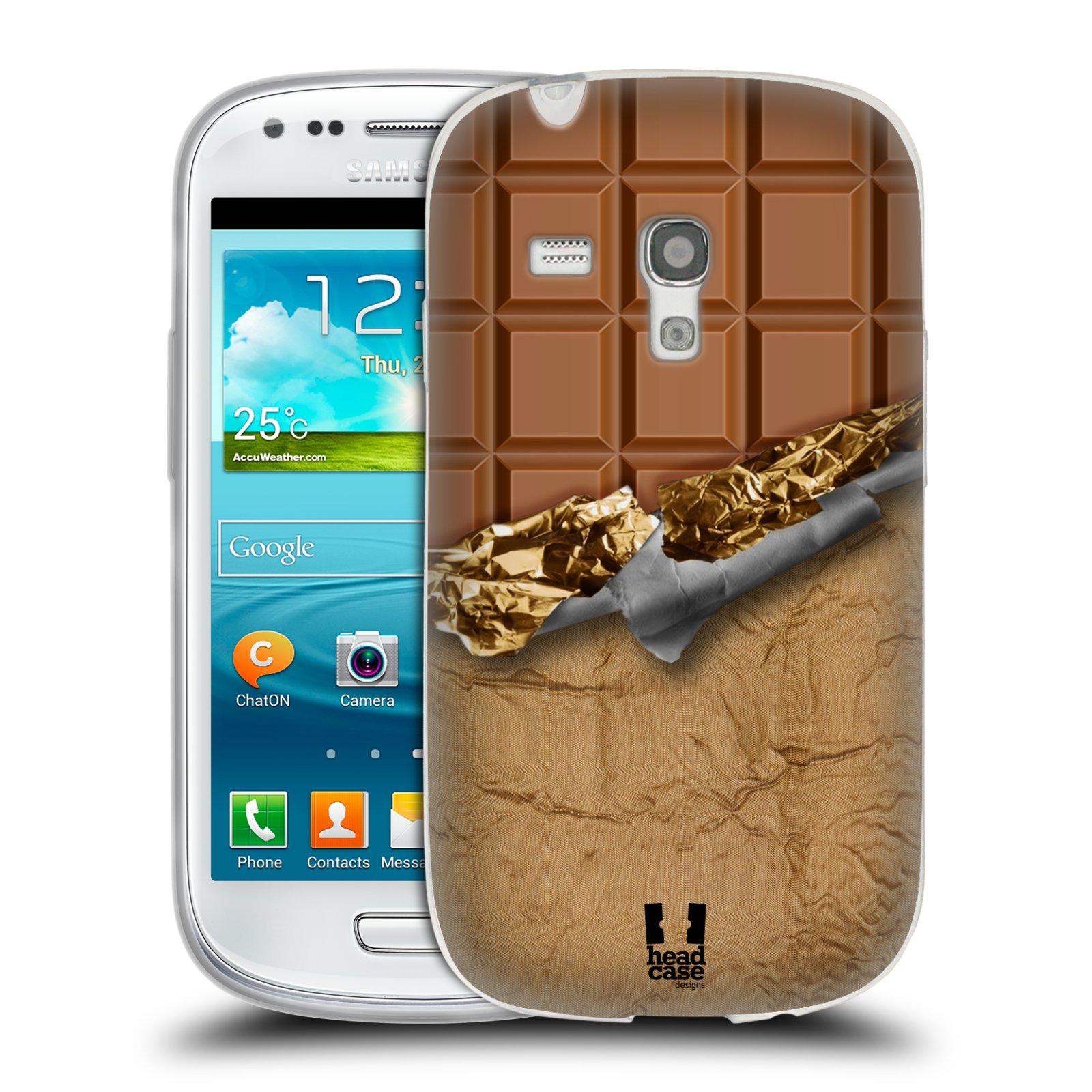 Silikonové pouzdro na mobil Samsung Galaxy S III Mini HEAD CASE ČOKOFOILED (Silikonový kryt či obal na mobilní telefon Samsung Galaxy S III Mini GT-i8190)