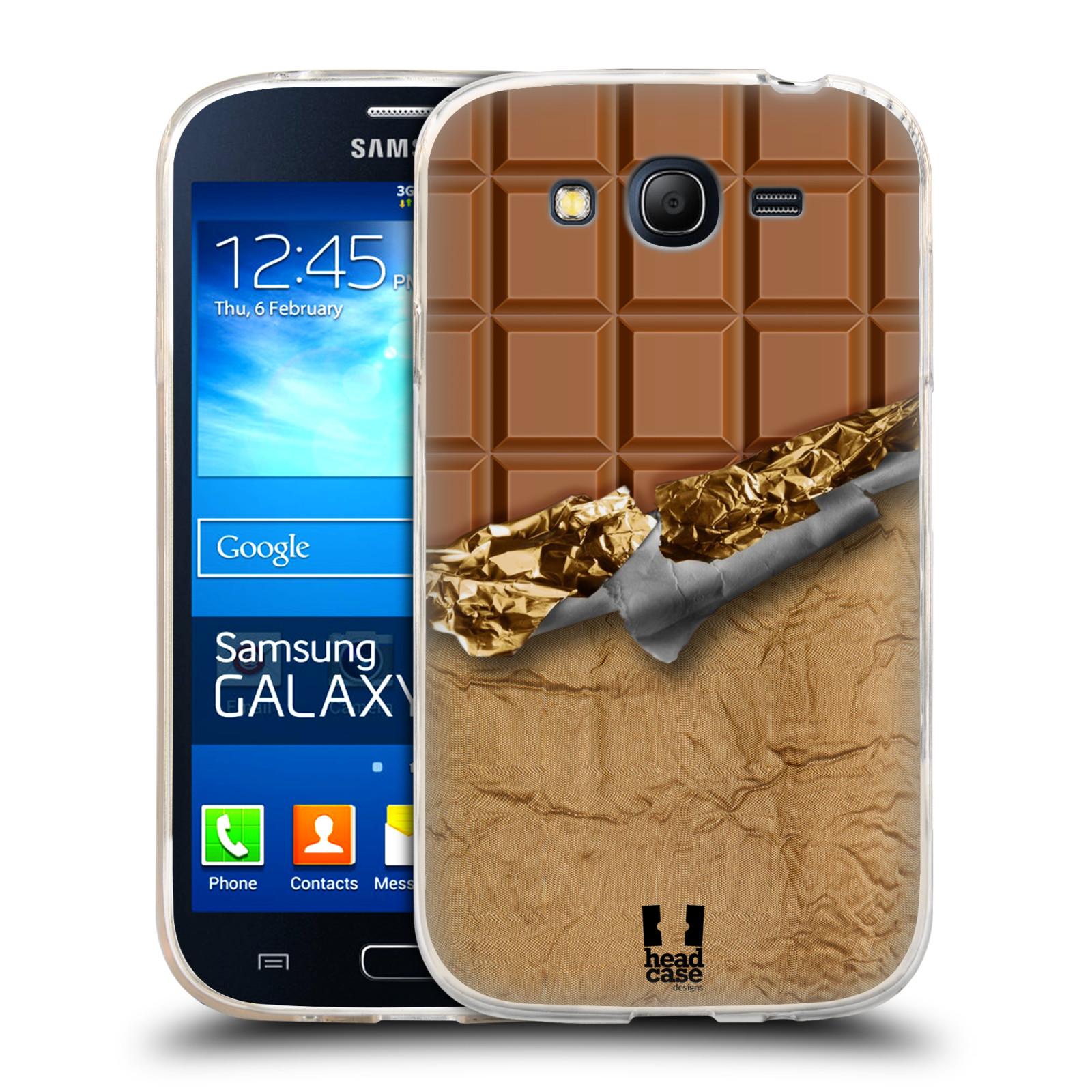 Silikonové pouzdro na mobil Samsung Galaxy Grand Neo Plus HEAD CASE ČOKOFOILED (Silikonový kryt či obal na mobilní telefon Samsung Galaxy Grand Neo Plus Duos GT-I9060i)