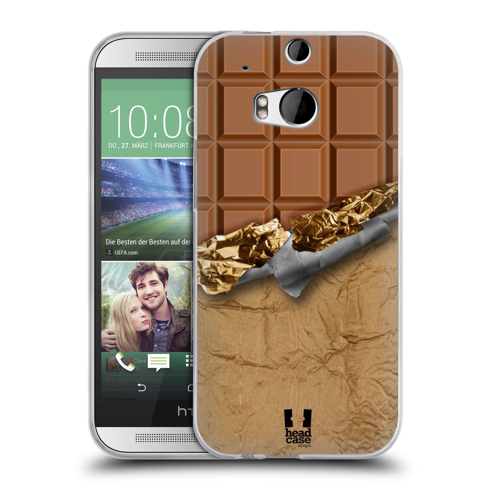 Silikonové pouzdro na mobil HTC ONE M8 HEAD CASE ČOKOFOILED (Silikonový kryt či obal na mobilní telefon HTC ONE M8)