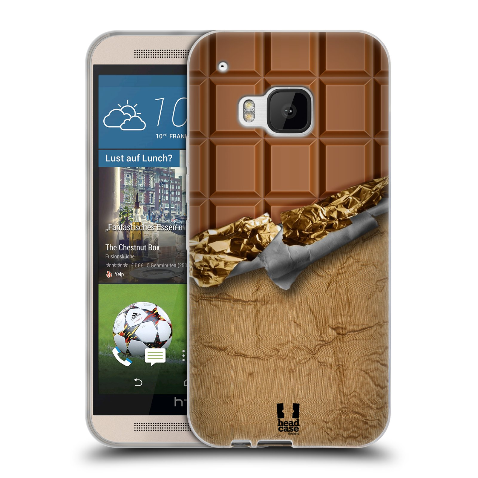 Silikonové pouzdro na mobil HTC ONE M9 HEAD CASE ČOKOFOILED (Silikonový kryt či obal na mobilní telefon HTC ONE M9)