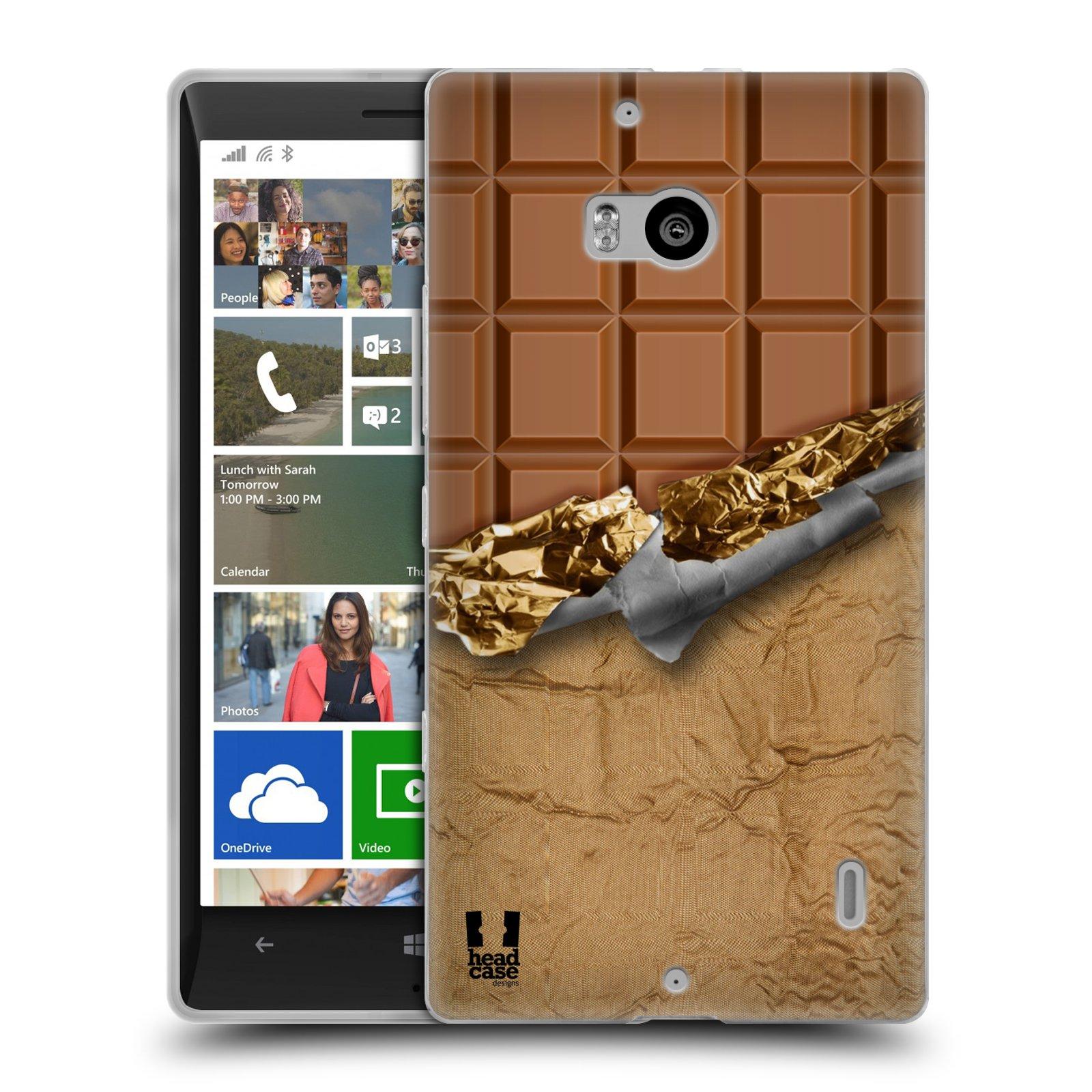 Silikonové pouzdro na mobil Nokia Lumia 930 HEAD CASE ČOKOFOILED (Silikonový kryt či obal na mobilní telefon Nokia Lumia 930)