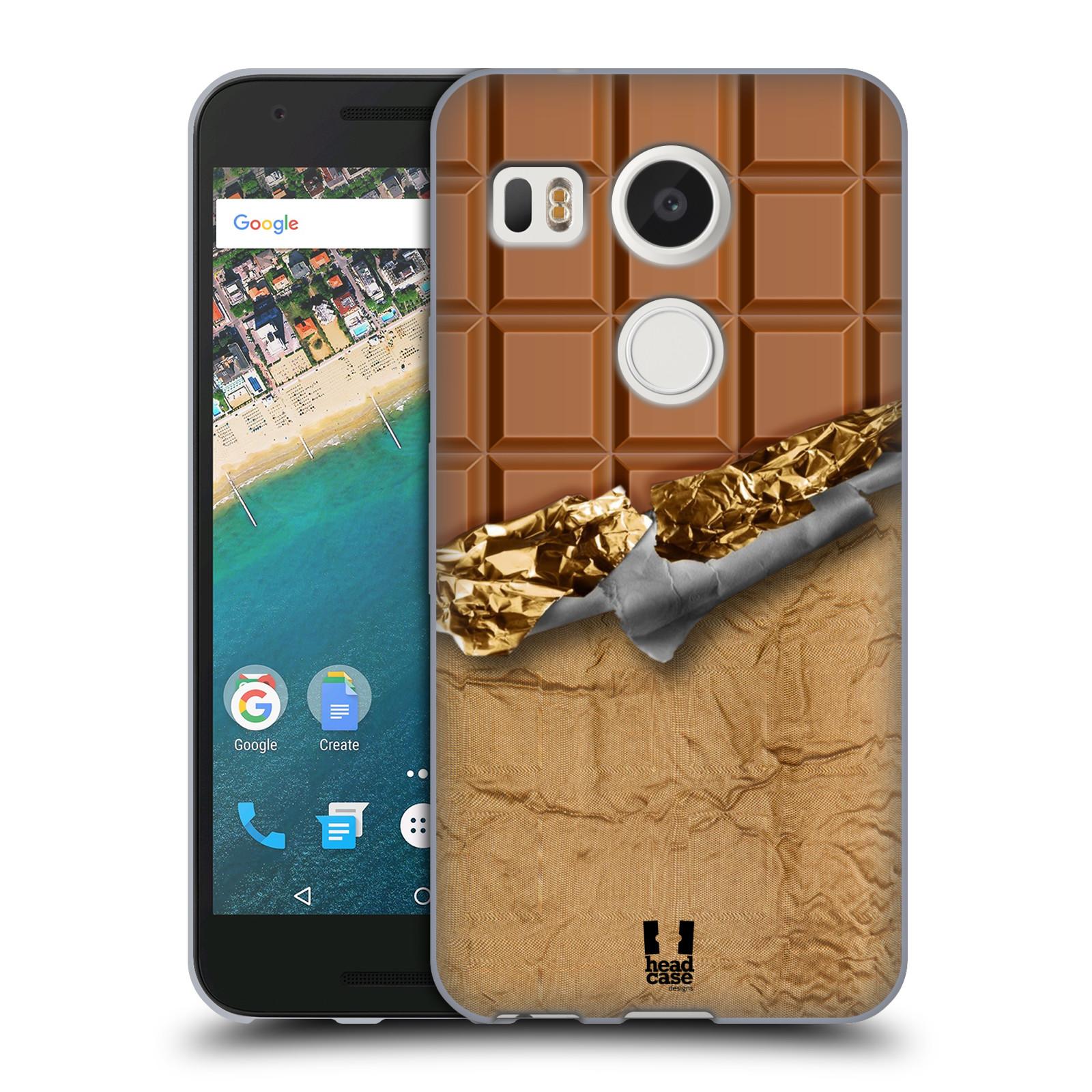 Silikonové pouzdro na mobil LG Nexus 5X - Head Case - ČOKOFOILED (Silikonový kryt či obal na mobilní telefon LG Nexus 5X)