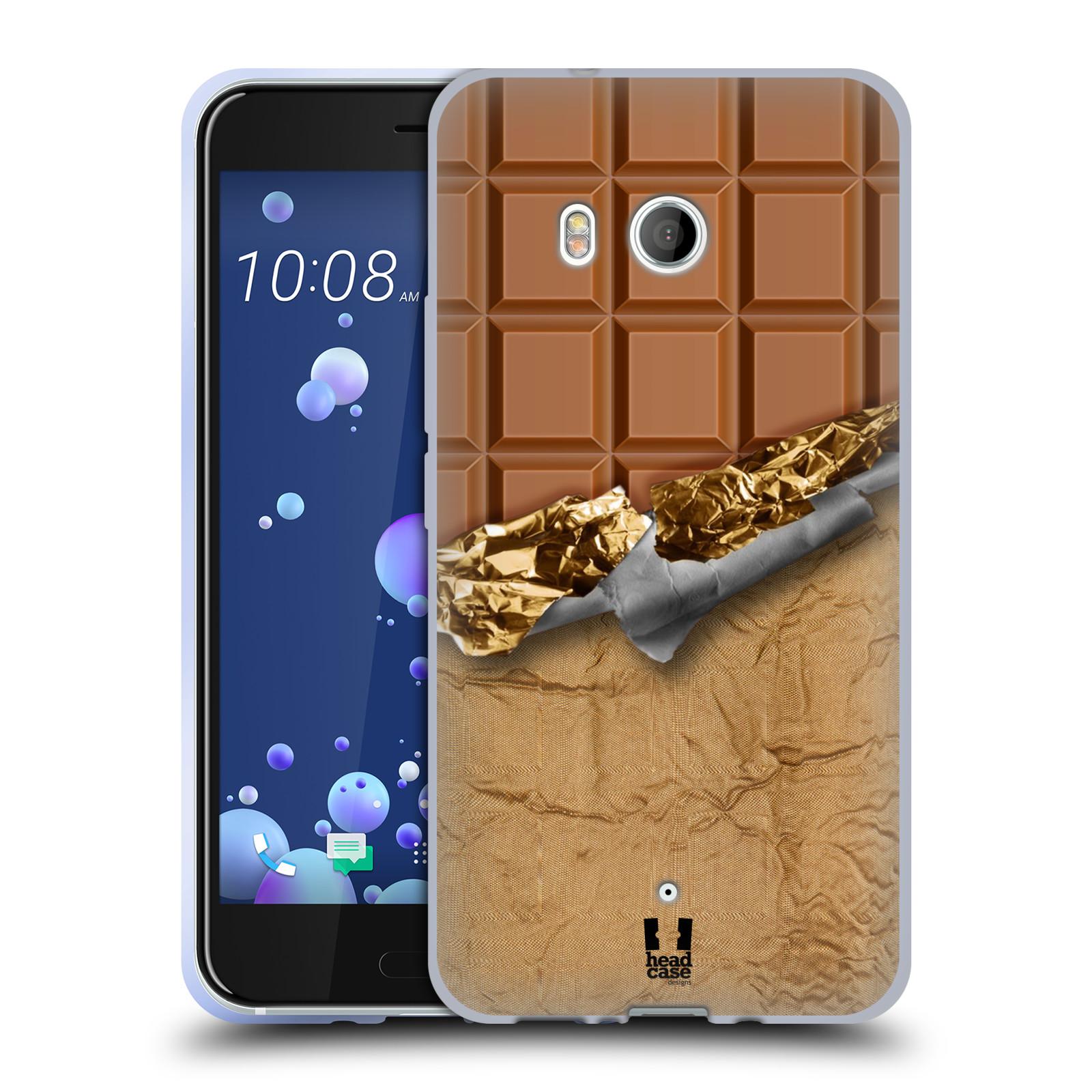 Silikonové pouzdro na mobil HTC U11 - Head Case - ČOKOFOILED