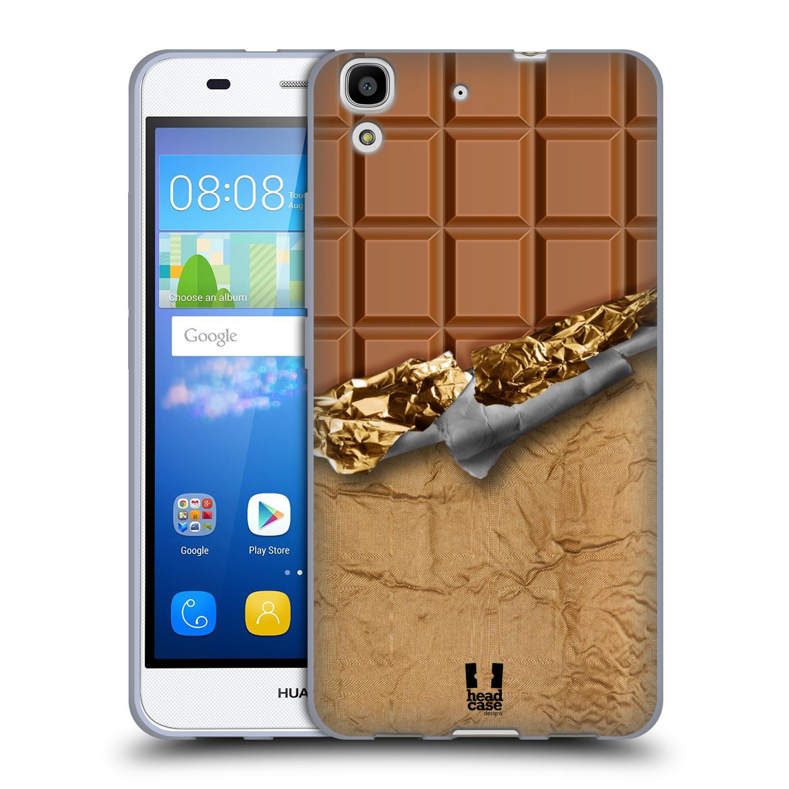 Silikonové pouzdro na mobil Huawei Y6 HEAD CASE ČOKOFOILED