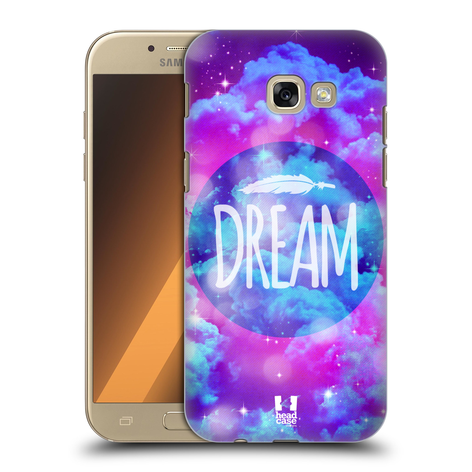 Plastové pouzdro na mobil Samsung Galaxy A5 (2017) HEAD CASE CHROMATIC DREAM