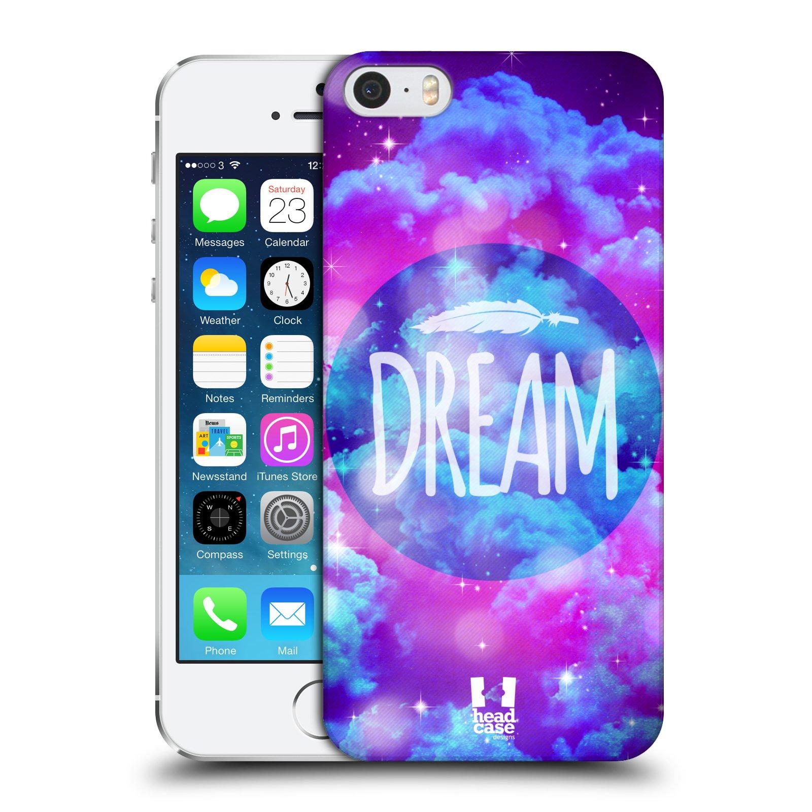 Plastové pouzdro na mobil Apple iPhone SE, 5 a 5S HEAD CASE CHROMATIC DREAM