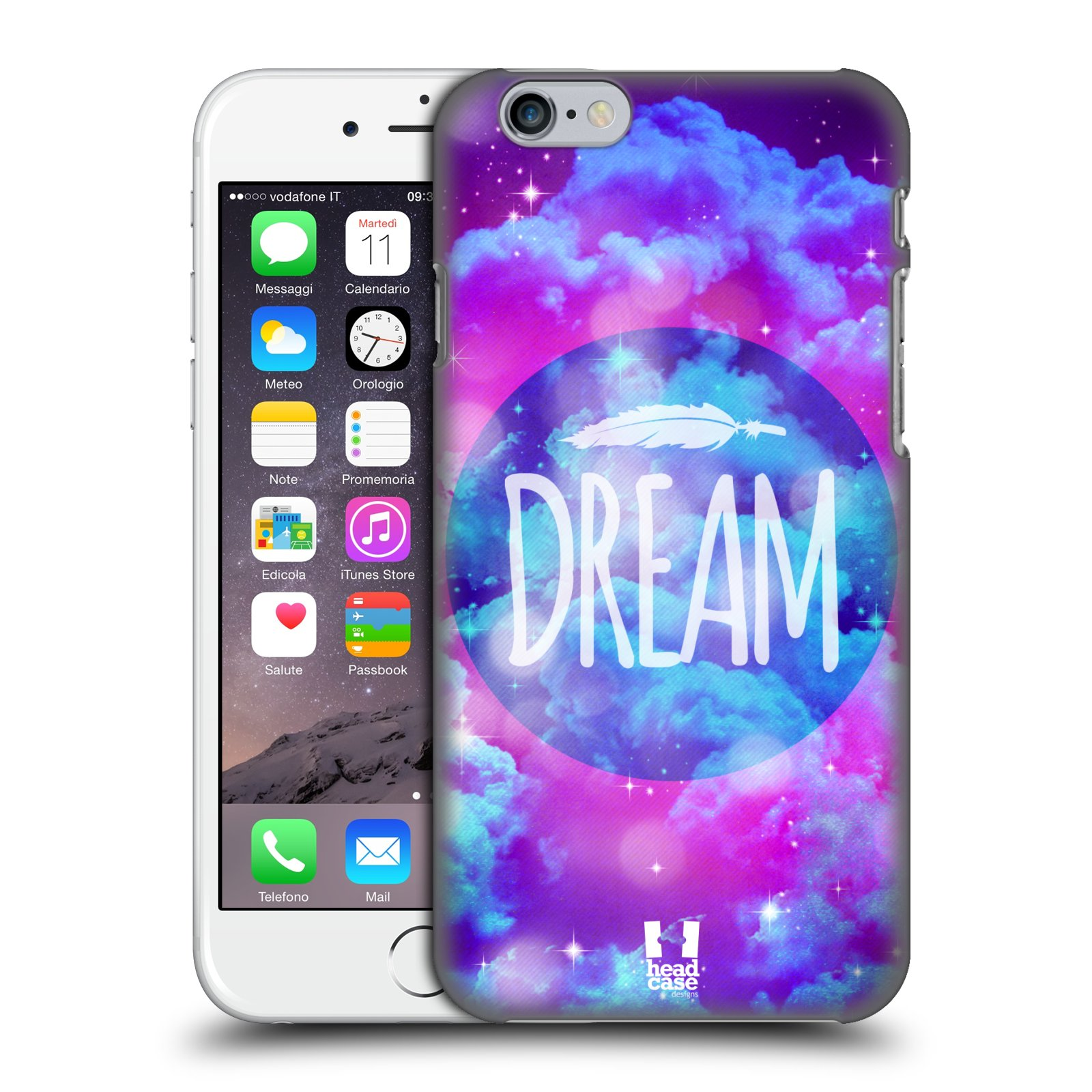 Plastové pouzdro na mobil Apple iPhone 6 a 6S HEAD CASE CHROMATIC DREAM