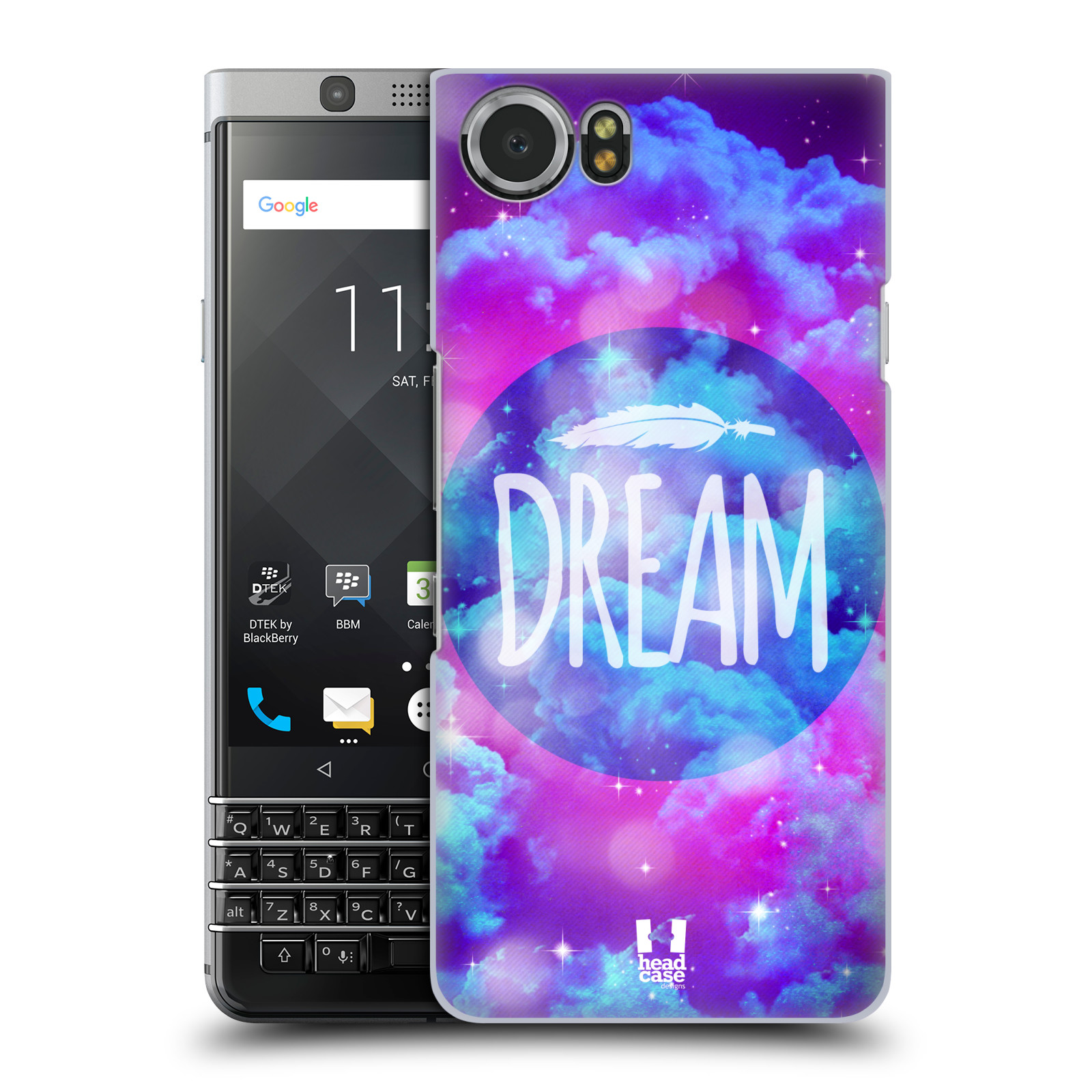 Plastové pouzdro na mobil BlackBerry KEYone - Head Case - CHROMATIC DREAM