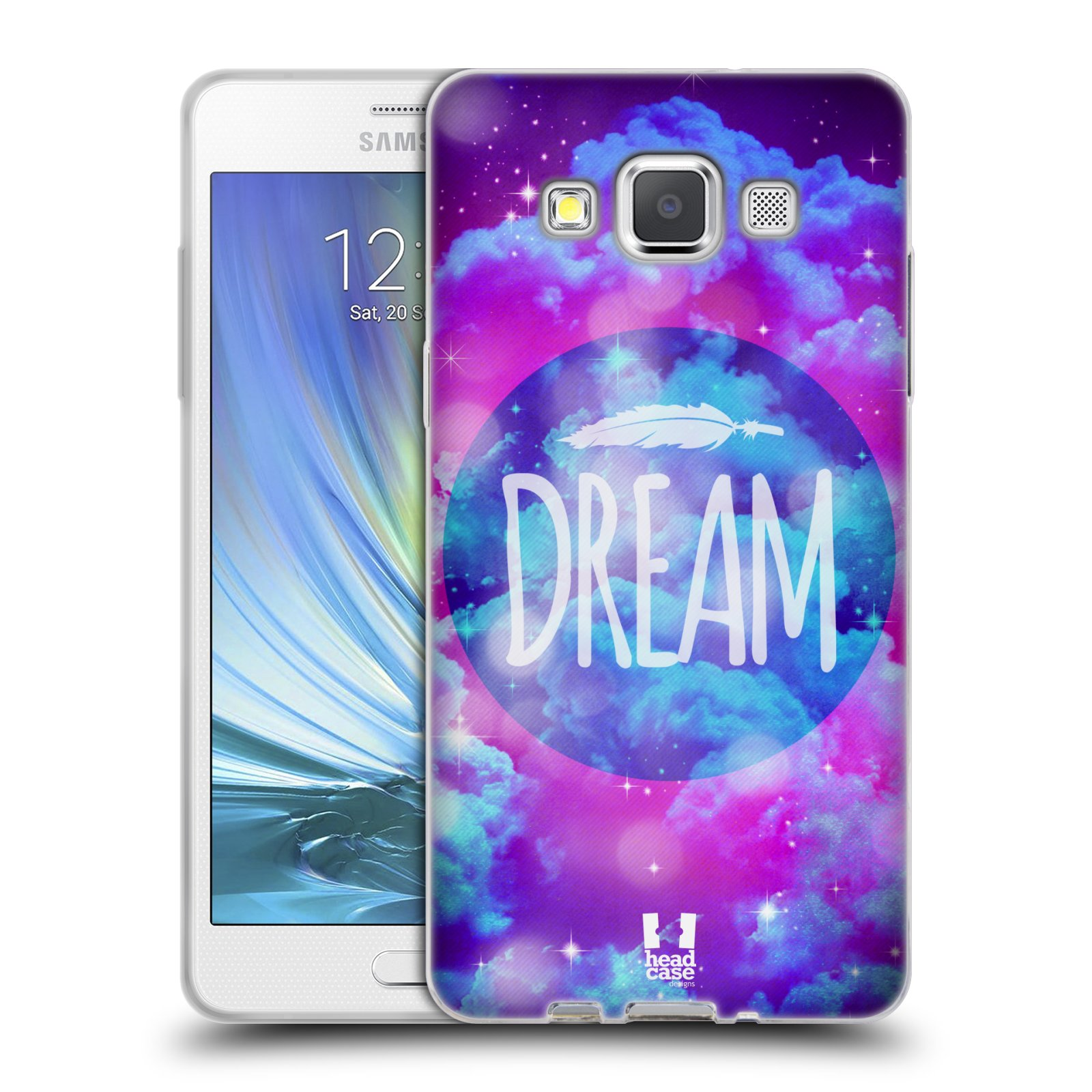 Silikonové pouzdro na mobil Samsung Galaxy A5 HEAD CASE CHROMATIC DREAM