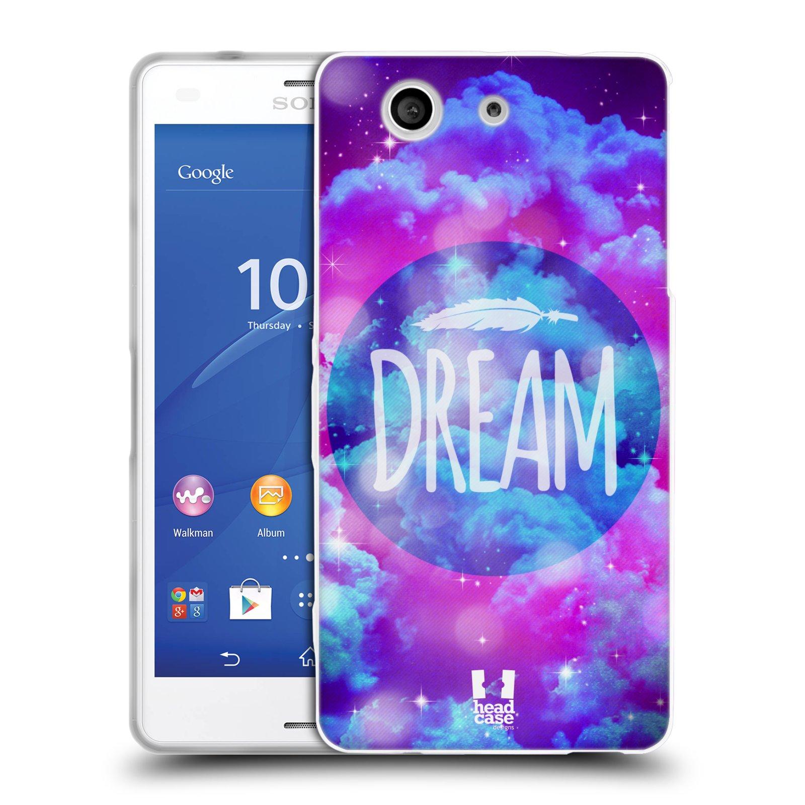 Silikonové pouzdro na mobil Sony Xperia Z3 Compact D5803 HEAD CASE CHROMATIC DREAM