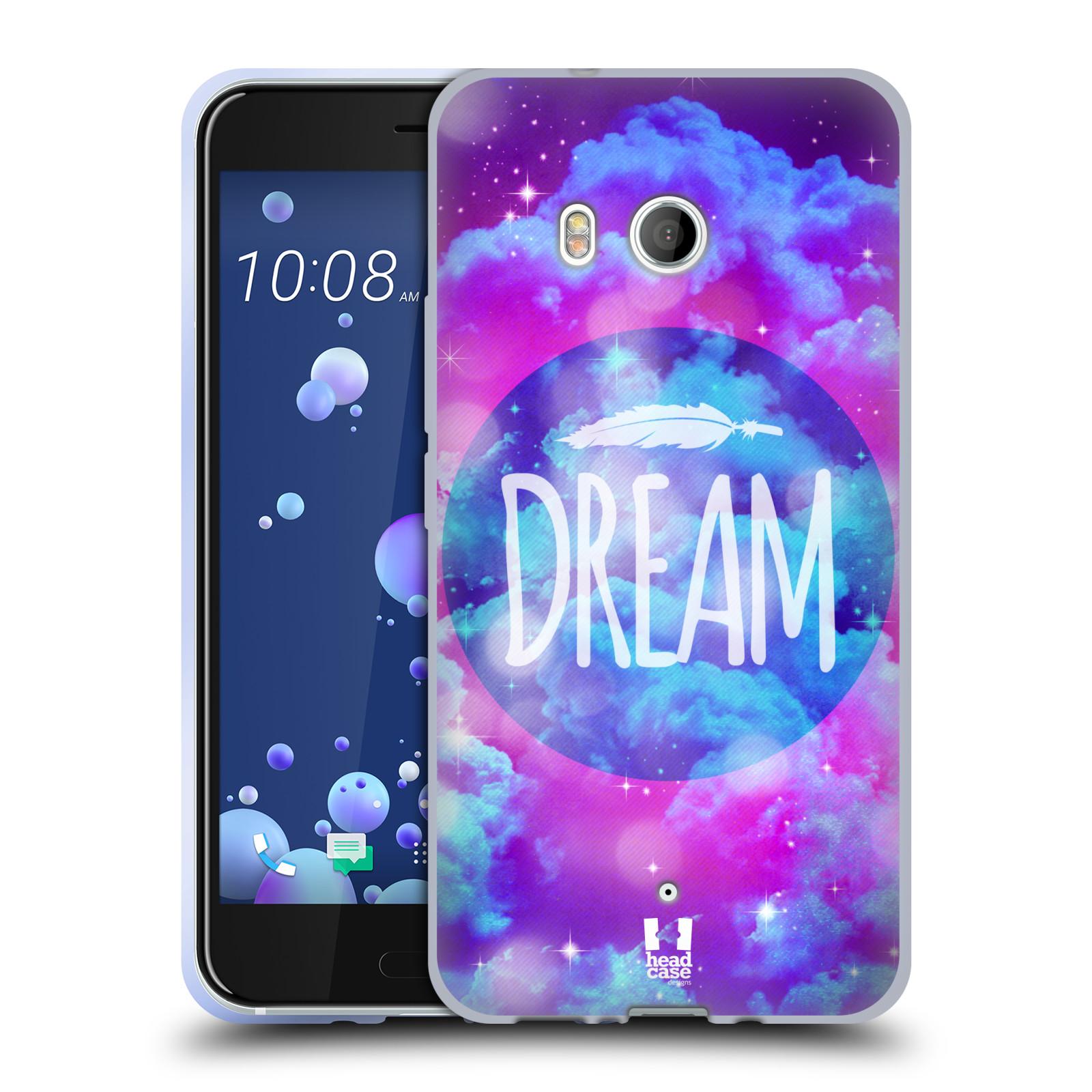 Silikonové pouzdro na mobil HTC U11 - Head Case - CHROMATIC DREAM