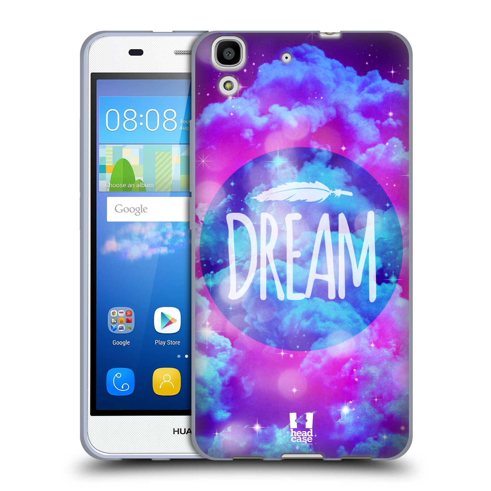 Silikonové pouzdro na mobil Huawei Y6 HEAD CASE CHROMATIC DREAM