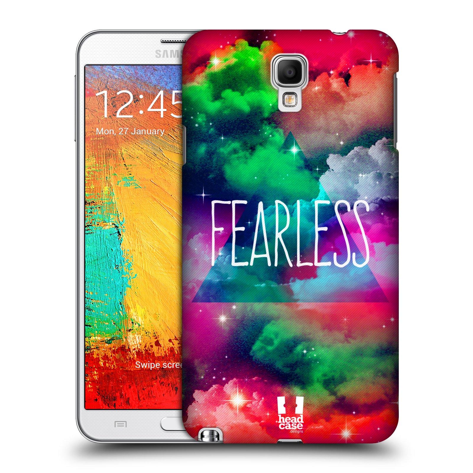 Plastové pouzdro na mobil Samsung Galaxy Note 3 Neo HEAD CASE CHROMATIC FEARLESS (Kryt či obal na mobilní telefon Samsung Galaxy Note 3 Neo SM-N7505)