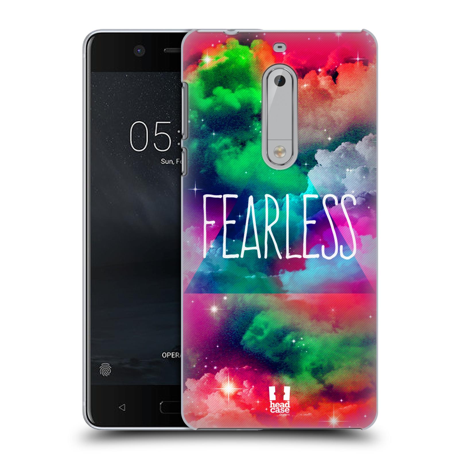 Plastové pouzdro na mobil Nokia 5 Head Case - CHROMATIC FEARLESS (Plastový kryt či obal na mobilní telefon Nokia 5 (2017))