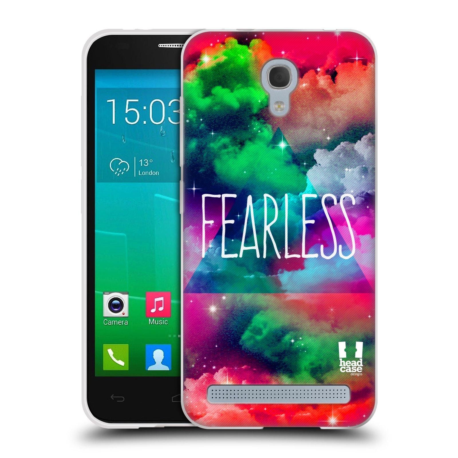 Silikonové pouzdro na mobil Alcatel One Touch Idol 2 Mini S 6036Y HEAD CASE CHROMATIC FEARLESS