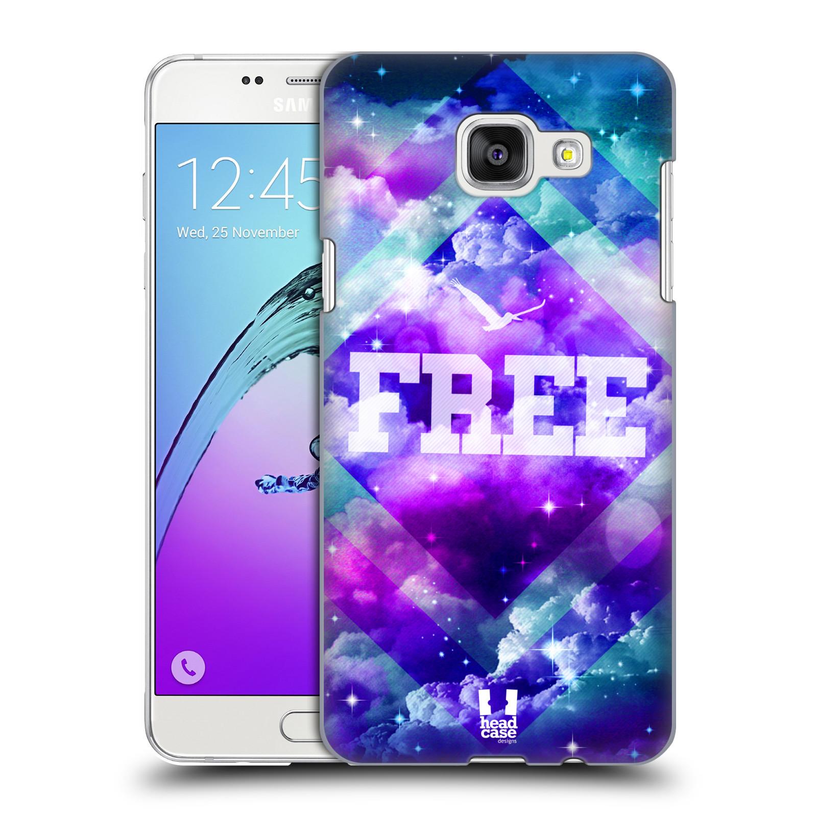 Plastové pouzdro na mobil Samsung Galaxy A5 (2016) HEAD CASE CHROMATIC FREE