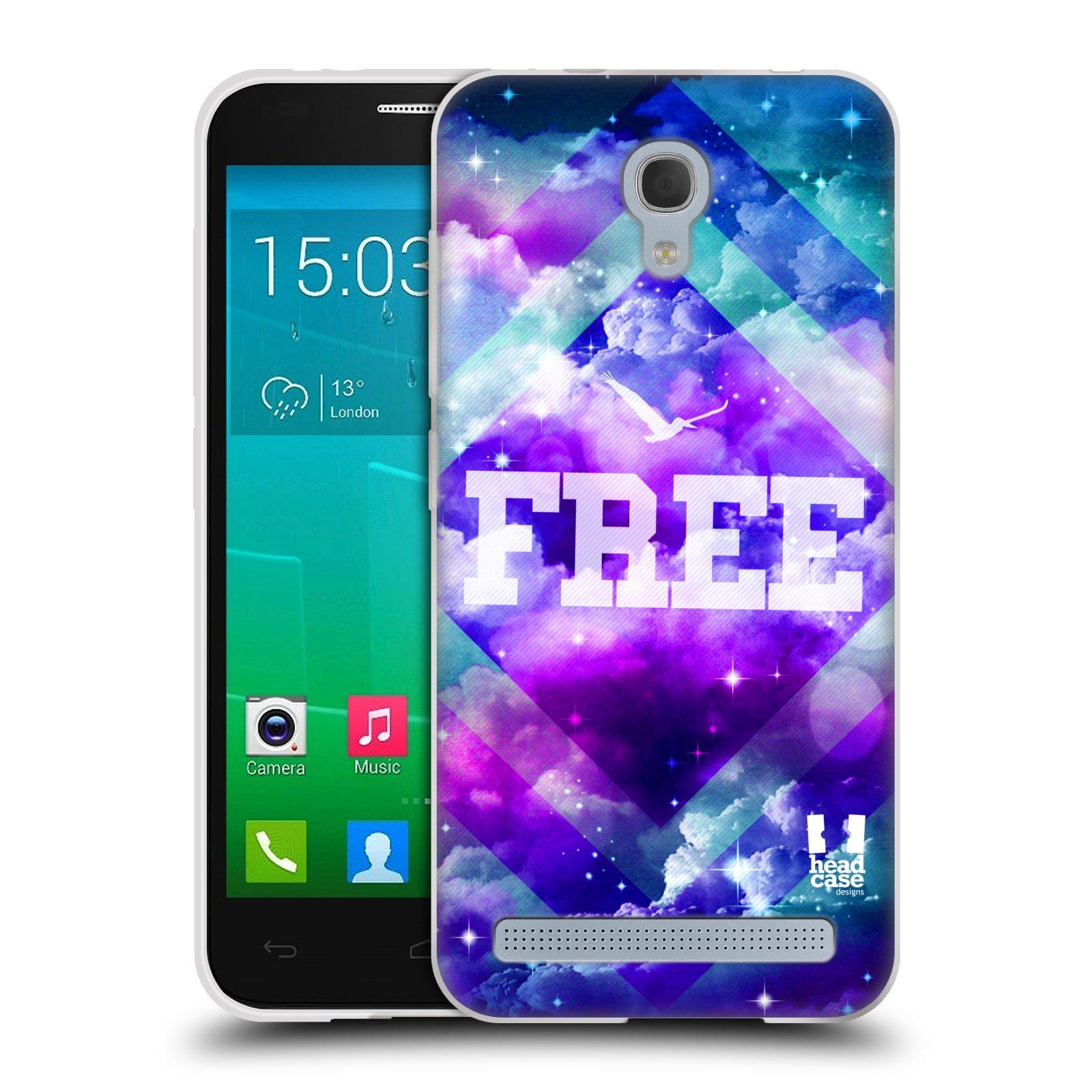 Silikonové pouzdro na mobil Alcatel One Touch Idol 2 Mini S 6036Y HEAD CASE CHROMATIC FREE