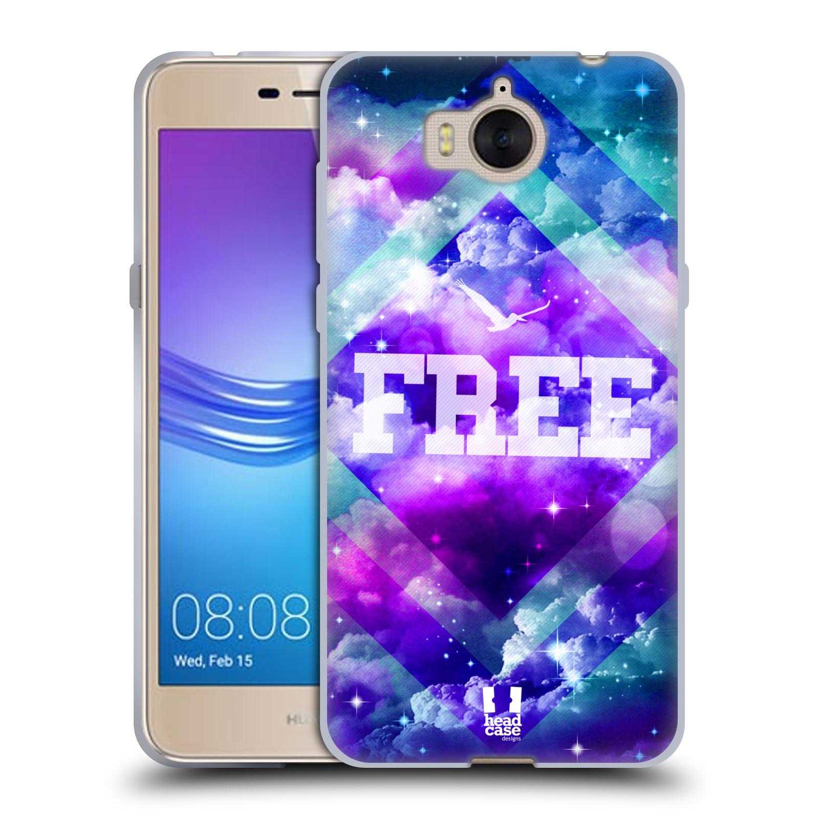 Silikonové pouzdro na mobil Huawei Y6 2017 - Head Case - CHROMATIC FREE