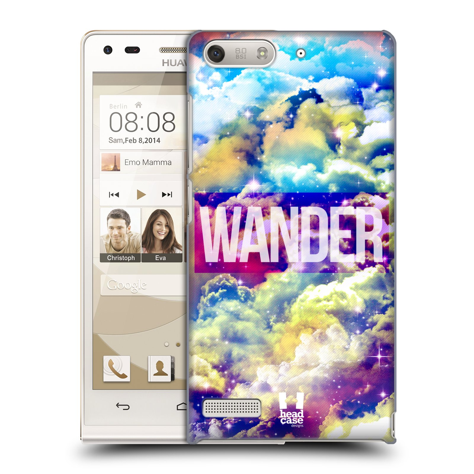 Plastové pouzdro na mobil Huawei Ascend G6 HEAD CASE CHROMATIC WANDER