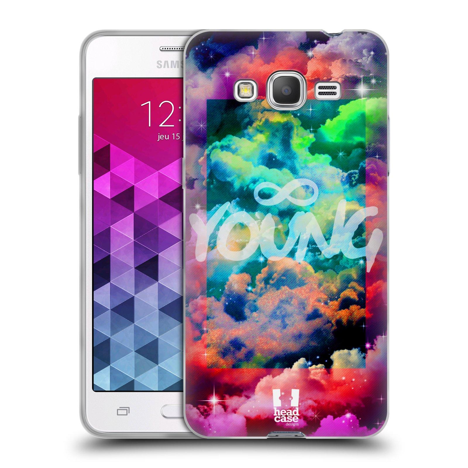 Silikonové pouzdro na mobil Samsung Galaxy Grand Prime VE HEAD CASE CHROMATIC YOUNG
