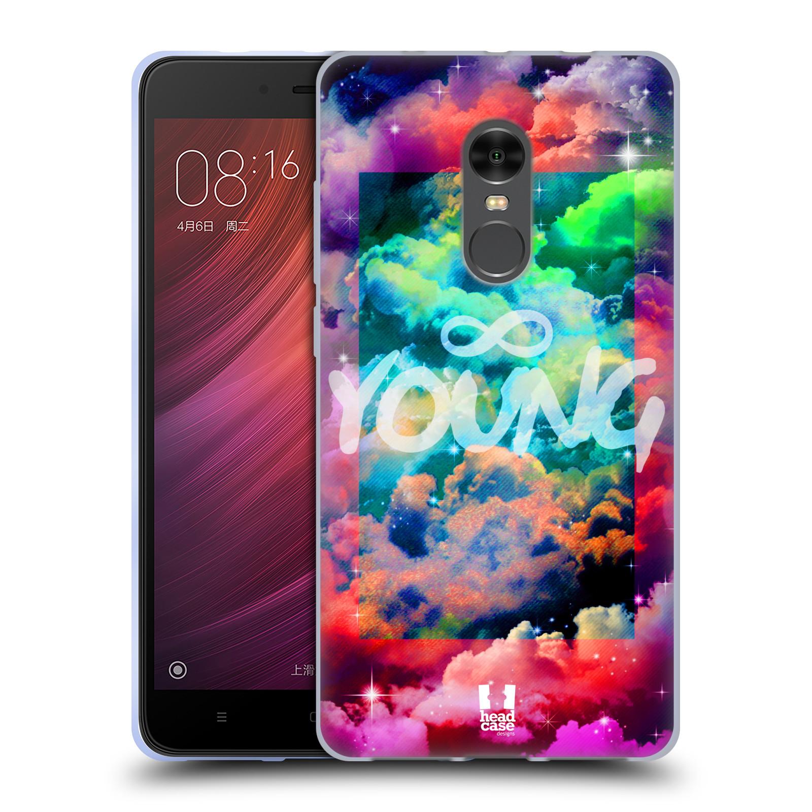 Silikonové pouzdro na mobil Xiaomi Redmi Note 4 - Head Case - CHROMATIC YOUNG