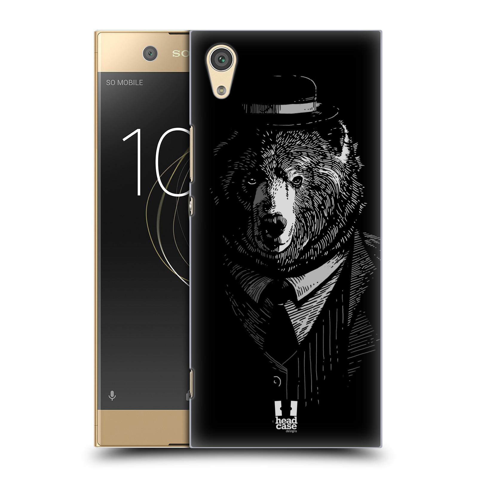 Plastové pouzdro na mobil Sony Xperia XA1 - Head Case - MEDVĚD V KVÁDRU (Plastový kryt či obal na mobilní telefon Sony Xperia XA1 G3121 s motivem MEDVĚD V KVÁDRU)