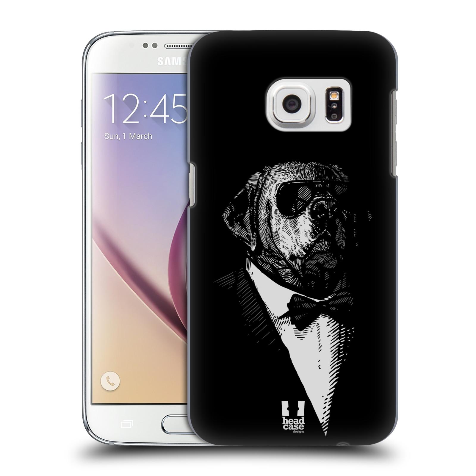 Plastové pouzdro na mobil Samsung Galaxy S7 HEAD CASE PSISKO V KVÁDRU (Kryt či obal na mobilní telefon Samsung Galaxy S7 SM-G930F)