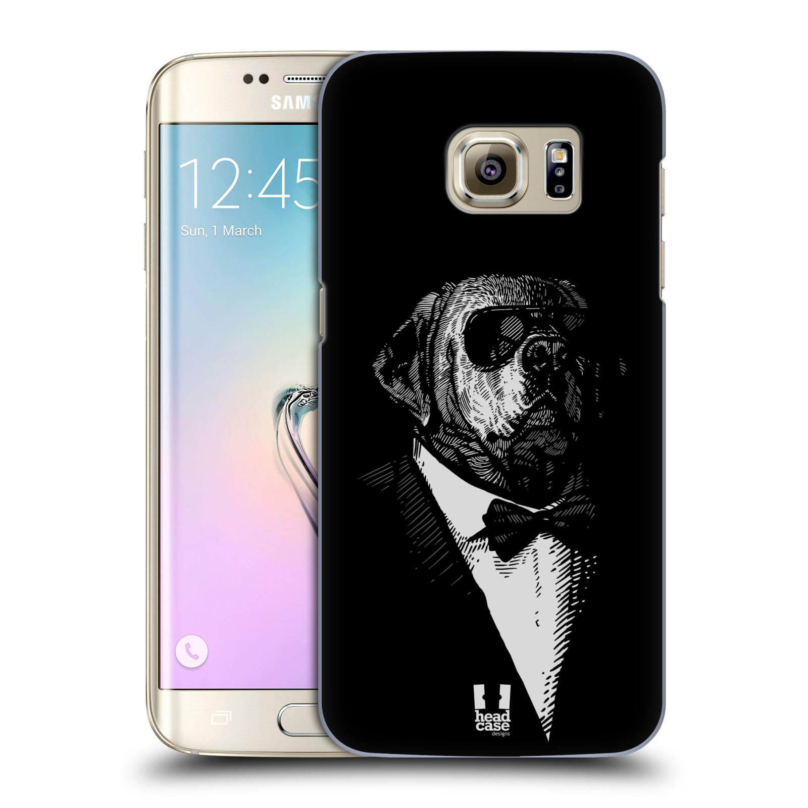 Plastové pouzdro na mobil Samsung Galaxy S7 Edge HEAD CASE PSISKO V KVÁDRU (Kryt či obal na mobilní telefon Samsung Galaxy S7 Edge SM-G935F)