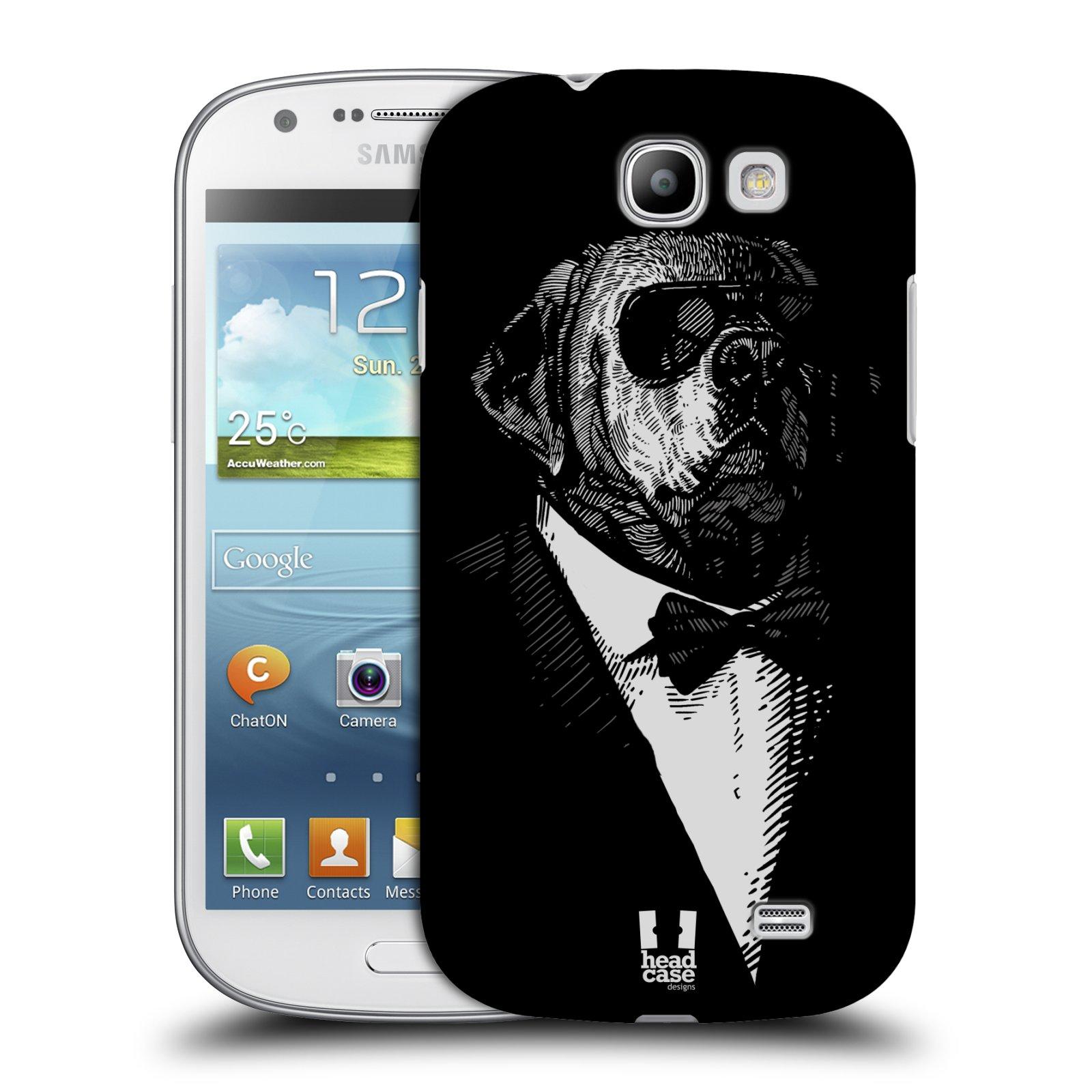 Plastové pouzdro na mobil Samsung Galaxy Express HEAD CASE PSISKO V KVÁDRU (Kryt či obal na mobilní telefon Samsung Galaxy Express GT-i8730)