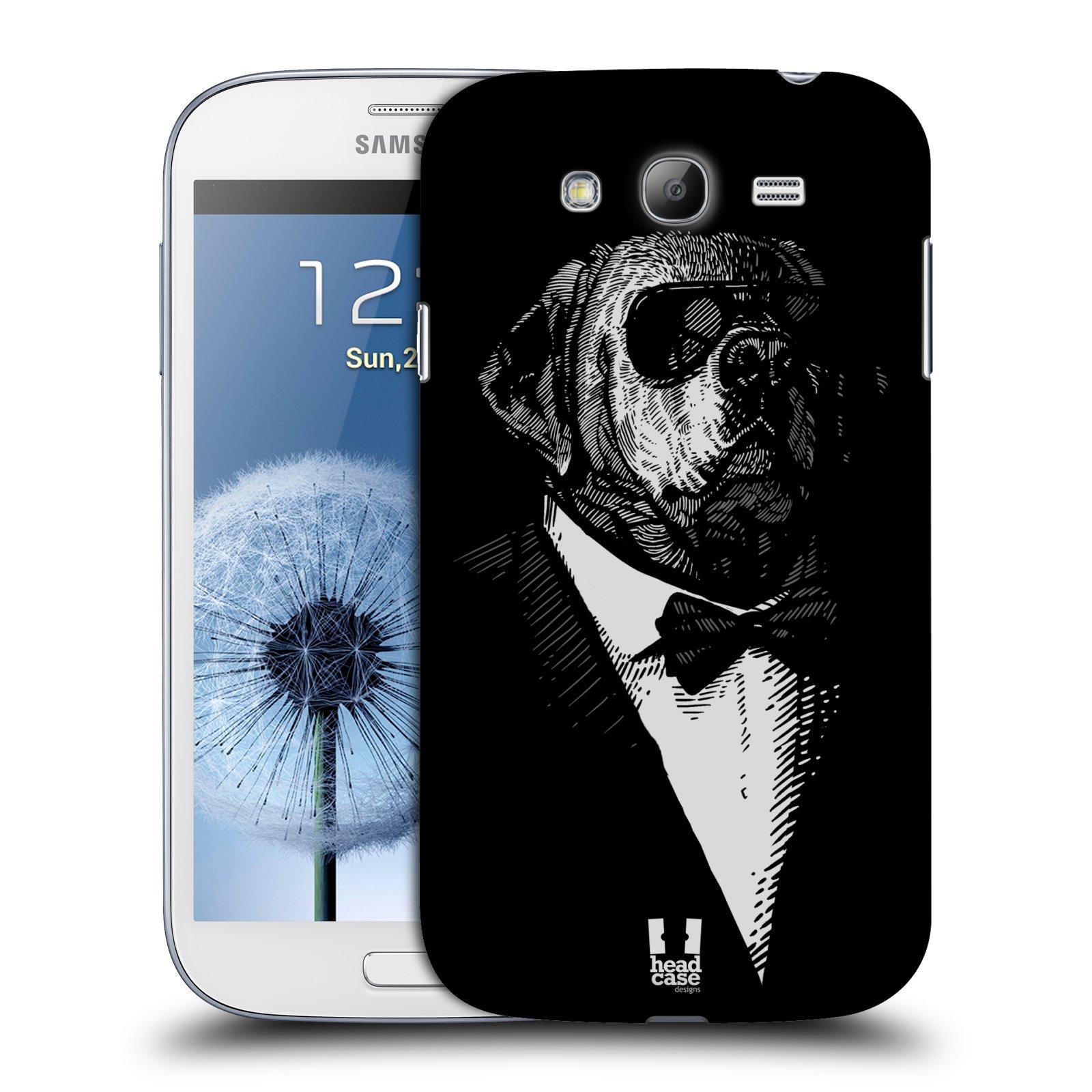 Plastové pouzdro na mobil Samsung Galaxy Grand Neo Plus HEAD CASE PSISKO V KVÁDRU (Kryt či obal na mobilní telefon Samsung Galaxy Grand Neo Plus GT-i9060i)