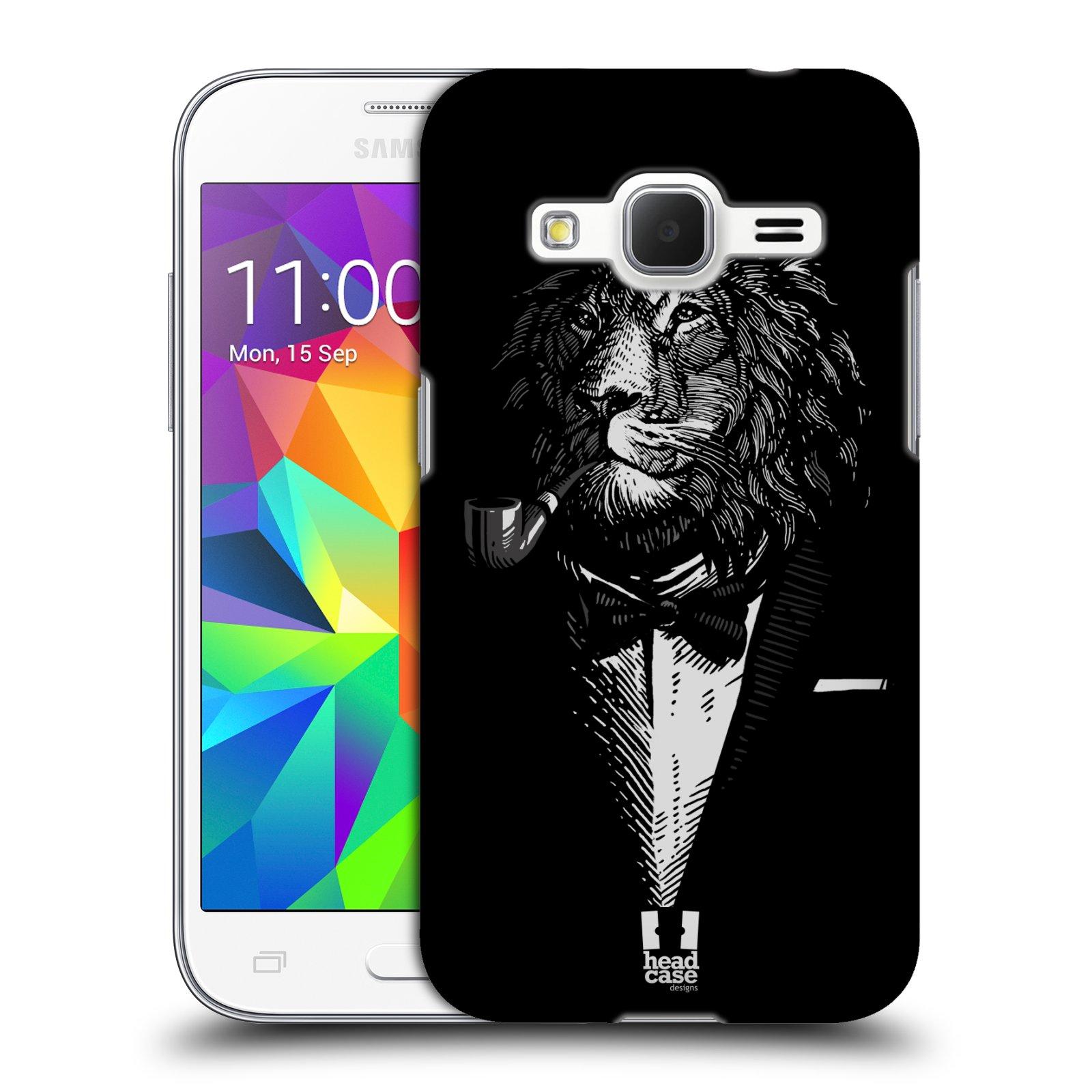 Plastové pouzdro na mobil Samsung Galaxy Core Prime LTE HEAD CASE LEV V KVÁDRU (Kryt či obal na mobilní telefon Samsung Galaxy Core Prime LTE SM-G360)