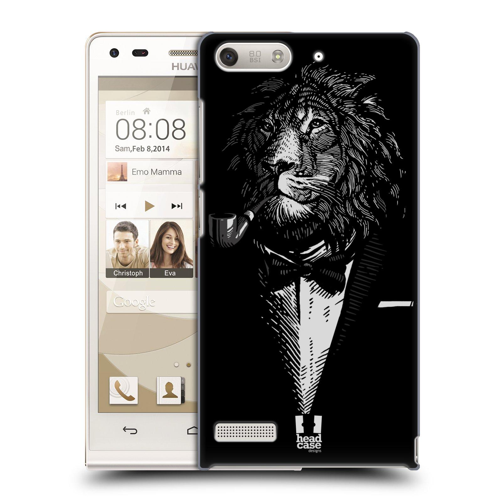 Plastové pouzdro na mobil Huawei Ascend G6 HEAD CASE LEV V KVÁDRU (Kryt či obal na mobilní telefon Huawei Ascend G6 bez LTE)