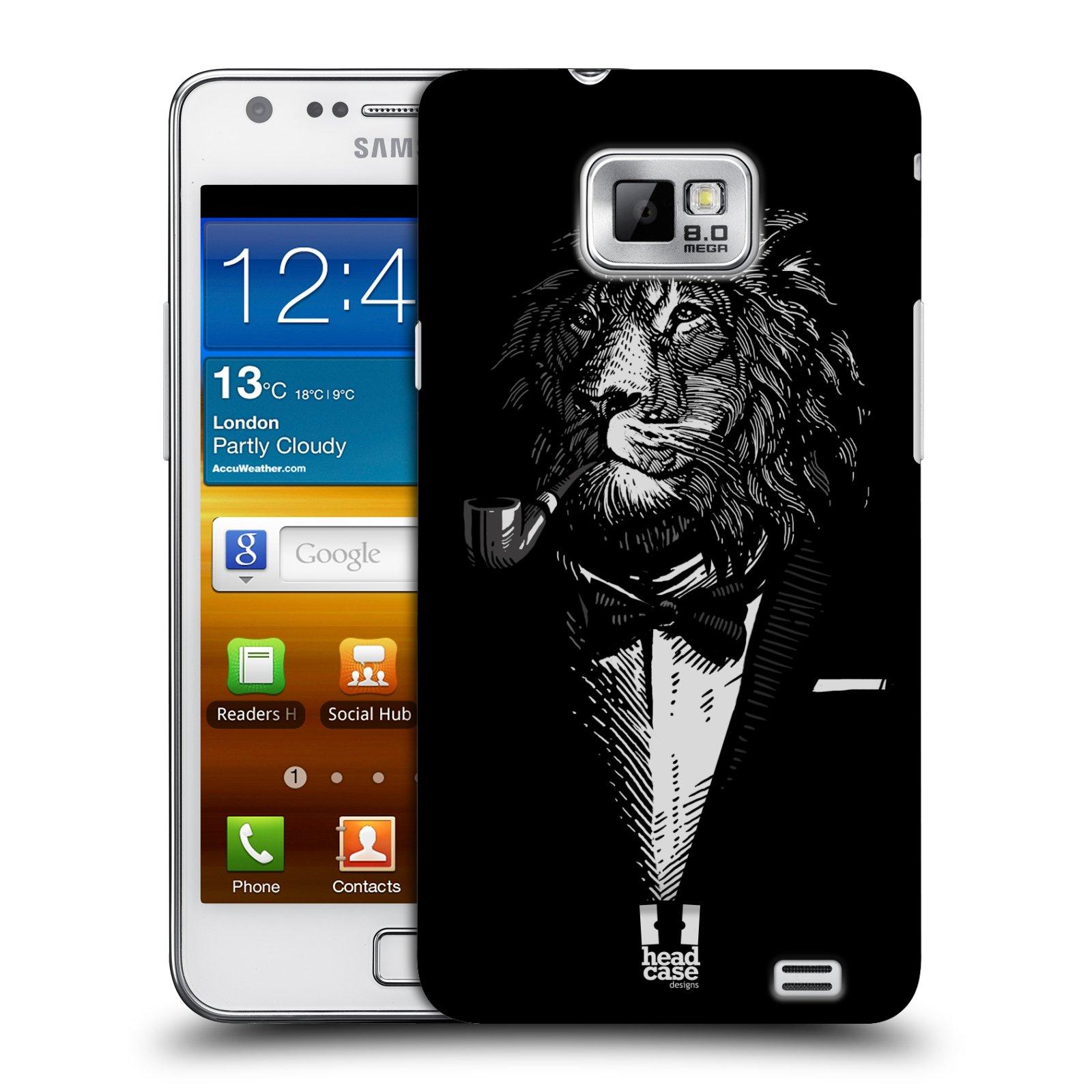 Plastové pouzdro na mobil Samsung Galaxy S II HEAD CASE LEV V KVÁDRU (Kryt či obal na mobilní telefon Samsung Galaxy S II GT-i9100)