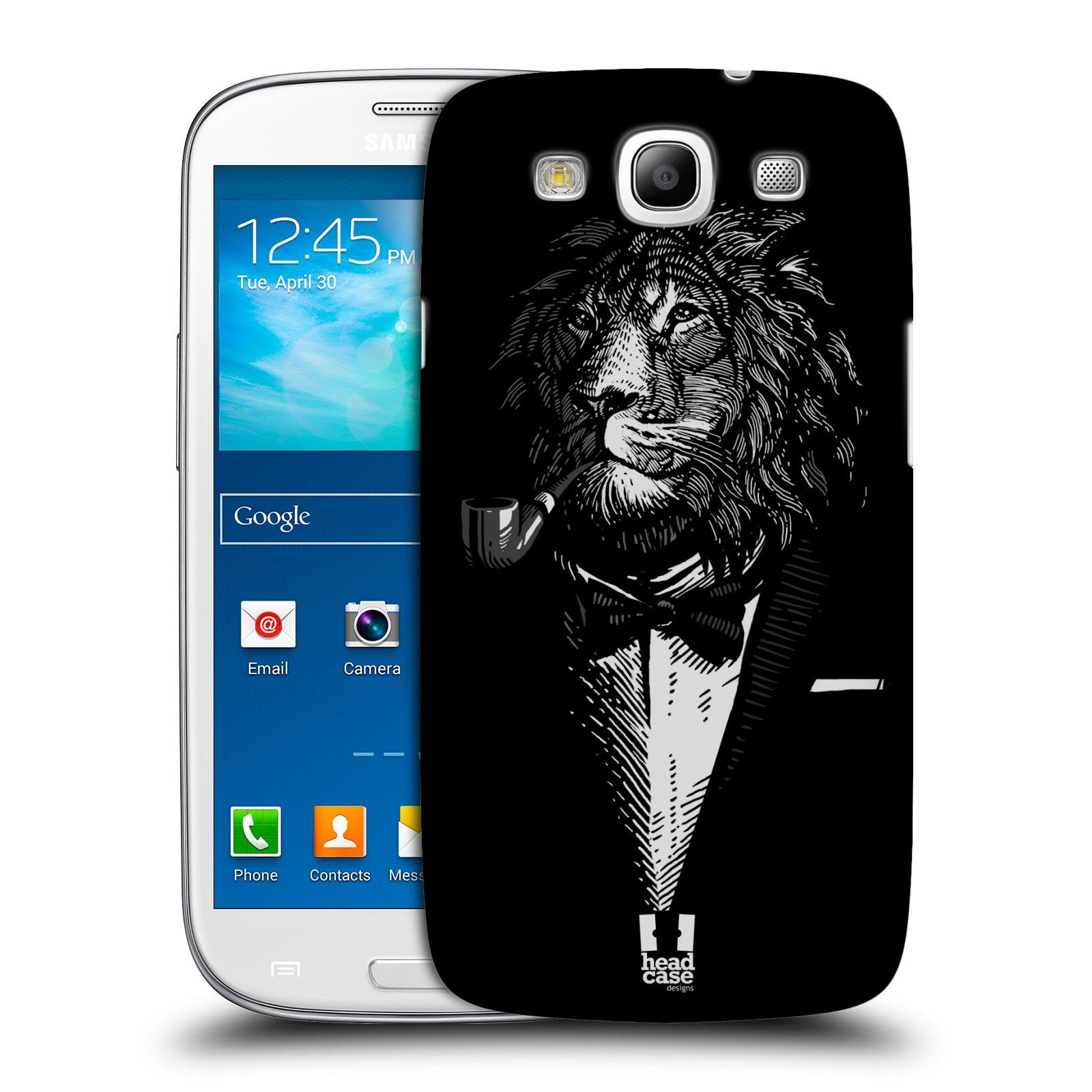 Plastové pouzdro na mobil Samsung Galaxy S3 Neo HEAD CASE LEV V KVÁDRU