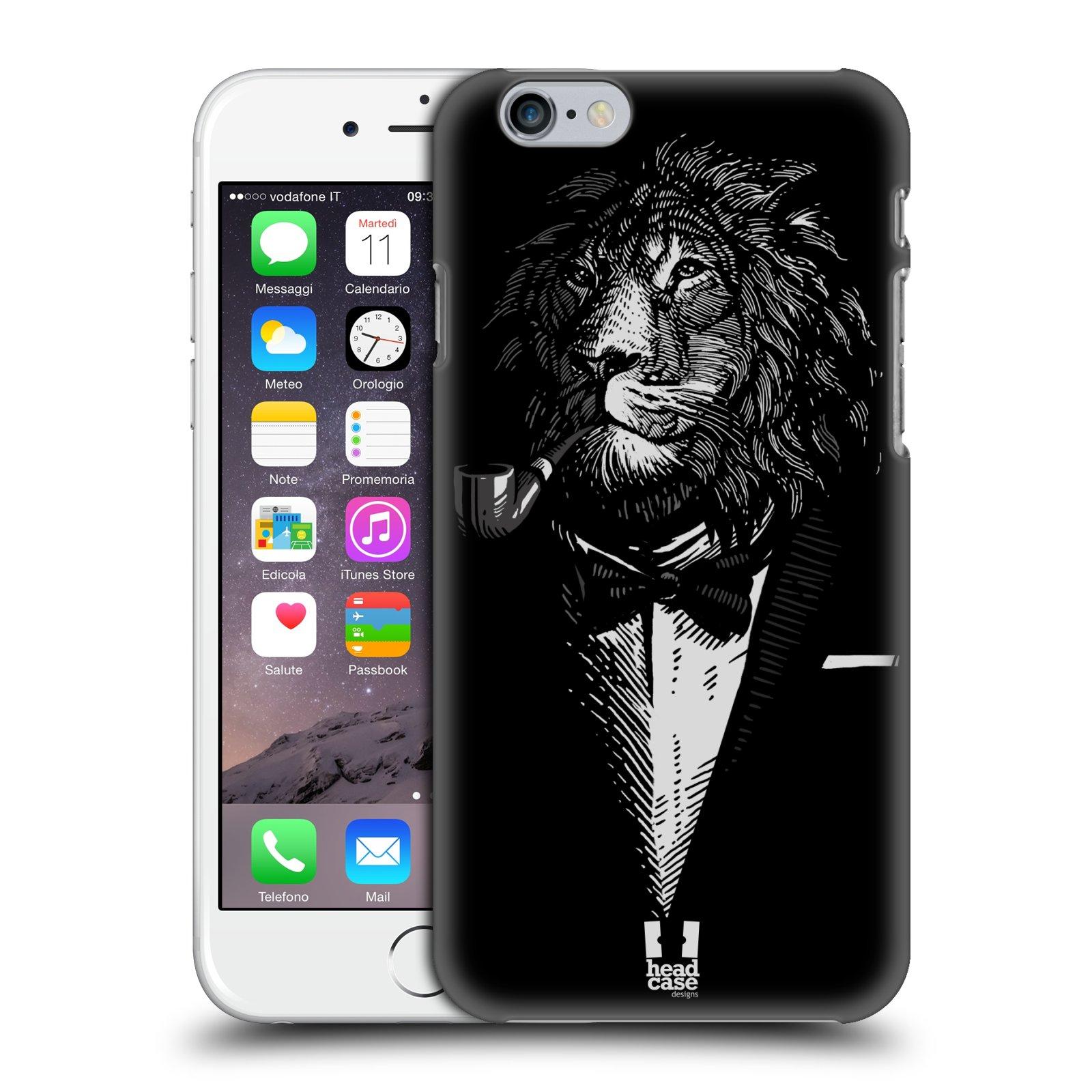 Plastové pouzdro na mobil Apple iPhone 6 a 6S HEAD CASE LEV V KVÁDRU