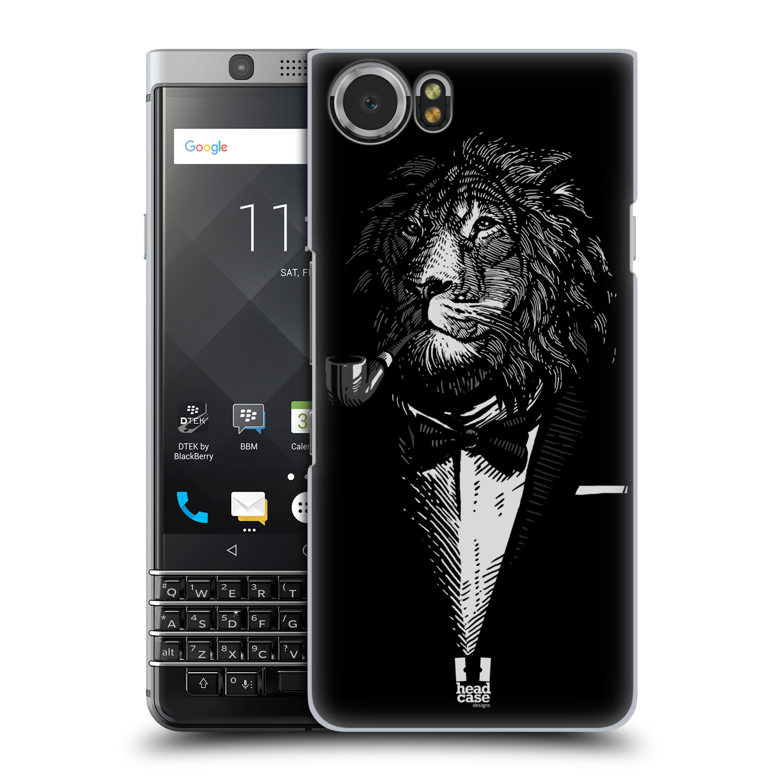 Plastové pouzdro na mobil BlackBerry KEYone - Head Case - LEV V KVÁDRU